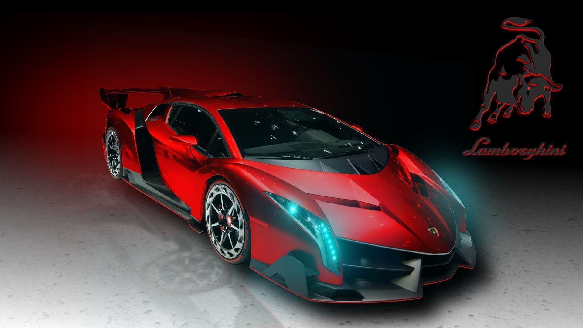 red hd wallpapers wide wallpapers widewallpapers - Red Lamborghini Veneno Wallpaper