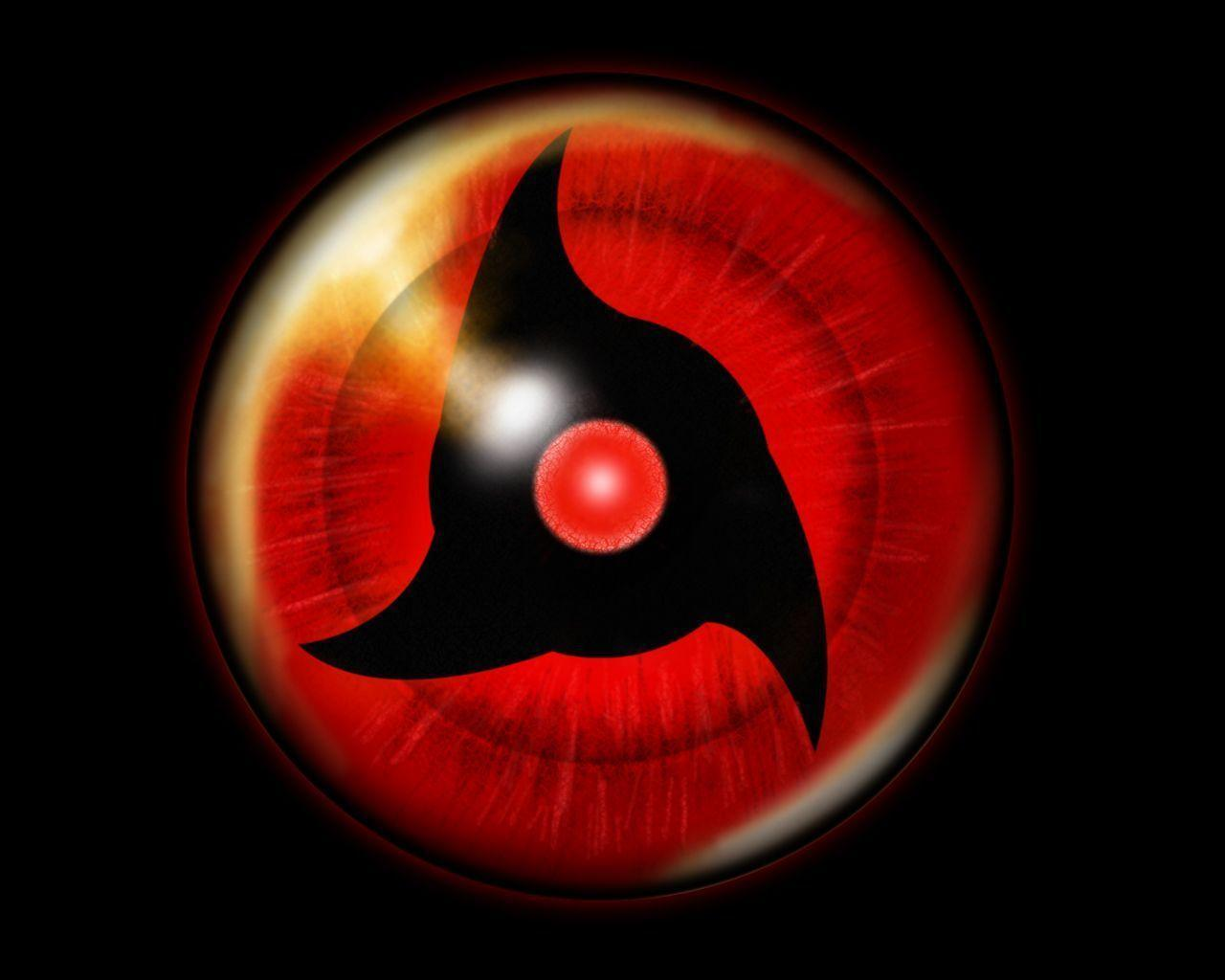 Wallpapers For > Obito Mangekyou Sharingan Wallpaper