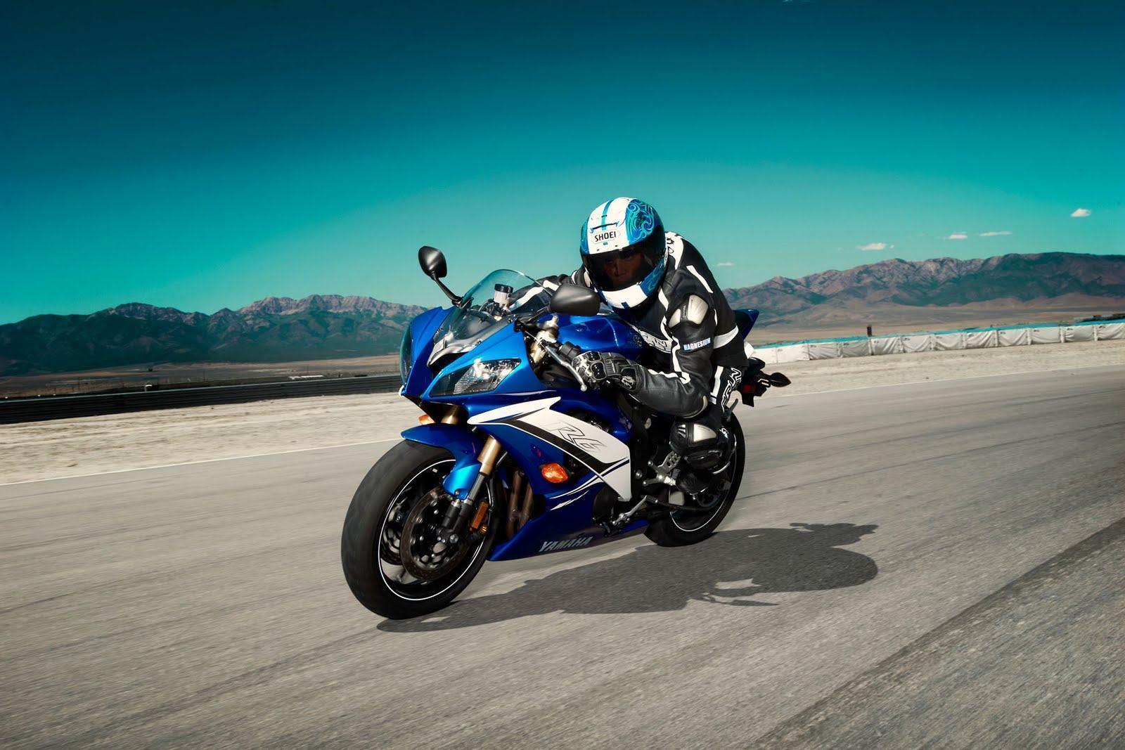 Sport Bike Wallpaper Desktop Backgrounds: Yamaha R6 Wallpapers