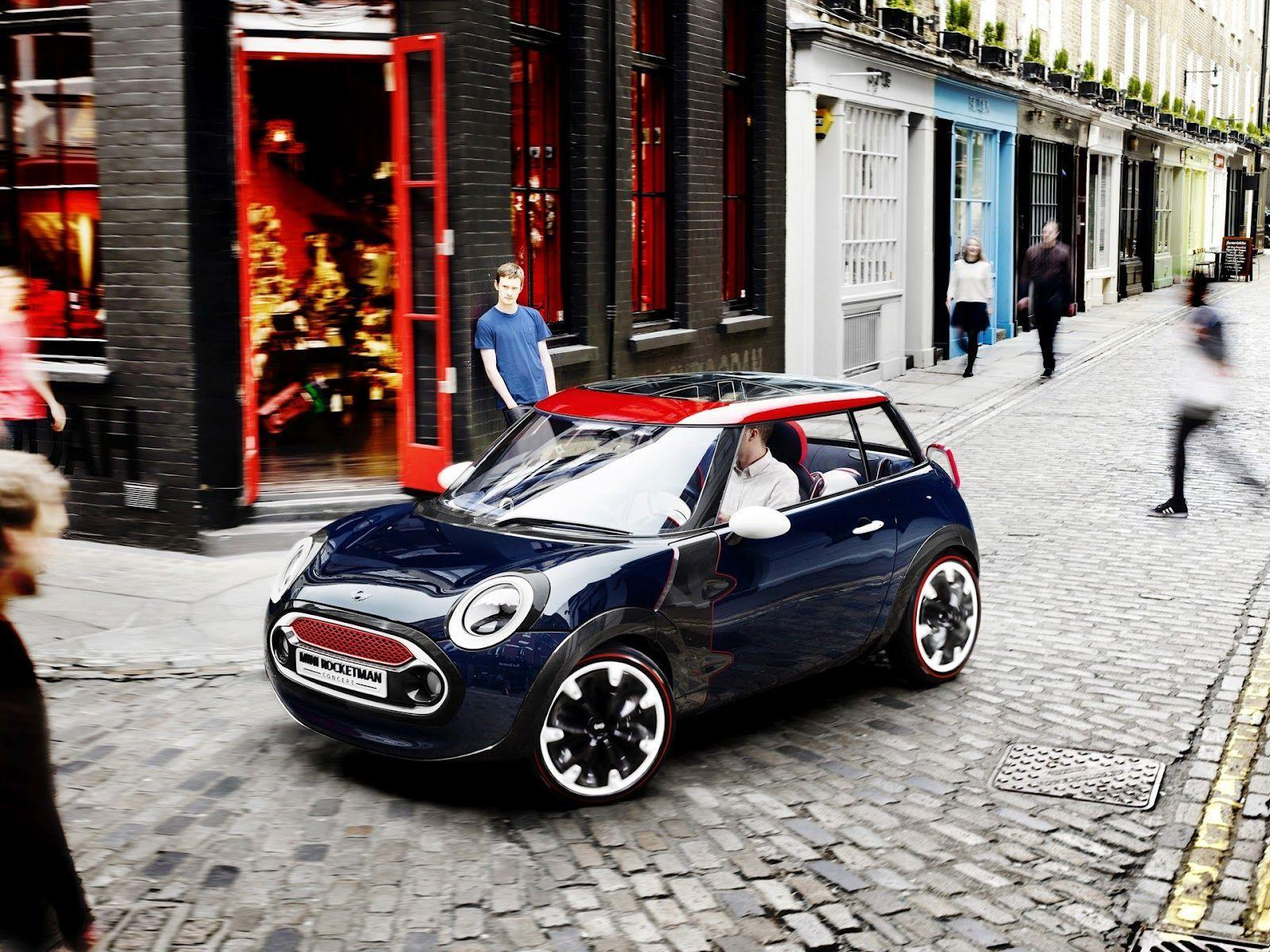Mini Cooper Concept Design on Street ~ HD Car Wallpapers
