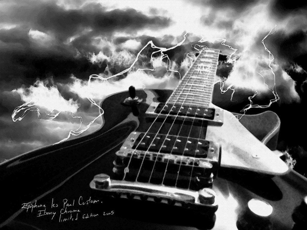 DeviantArt: More Like Gibson Les Paul Custom by AfroAfroguy