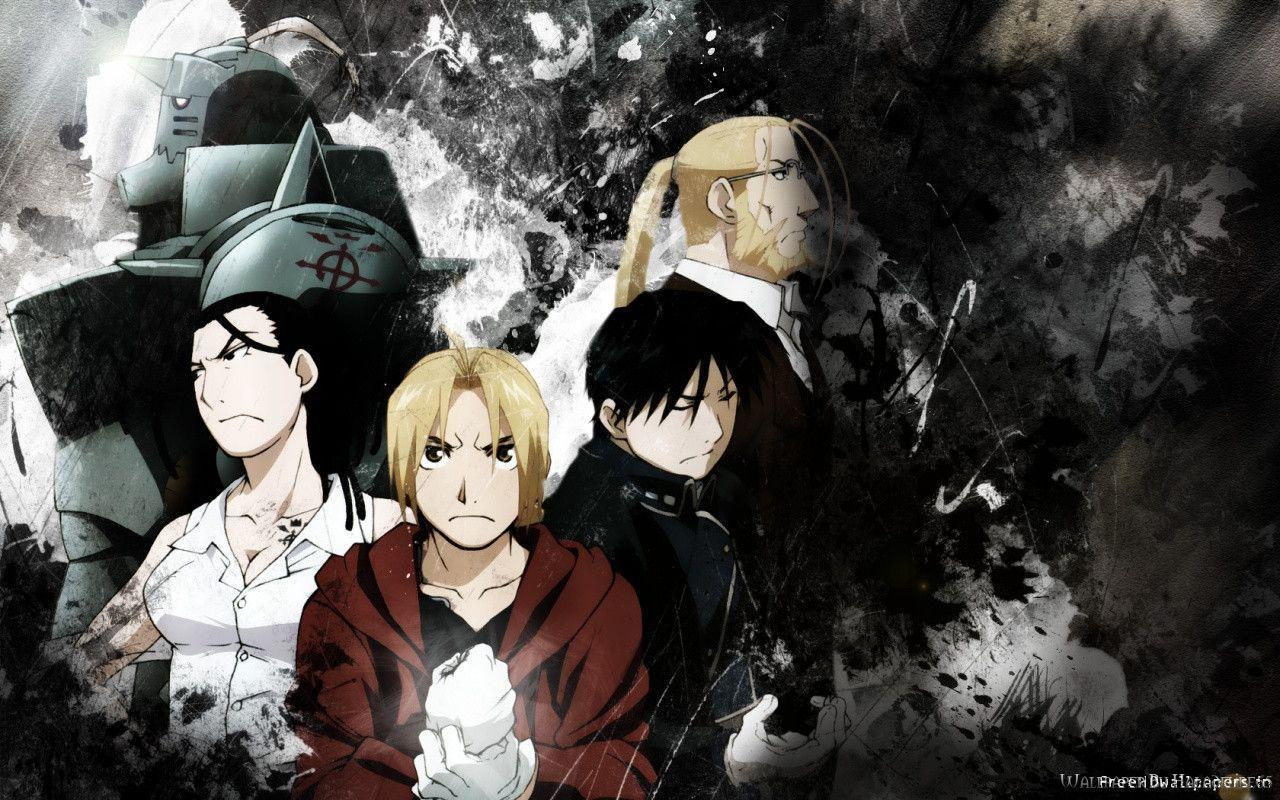fullmetal alchemist wallpapers hd wallpaper cave