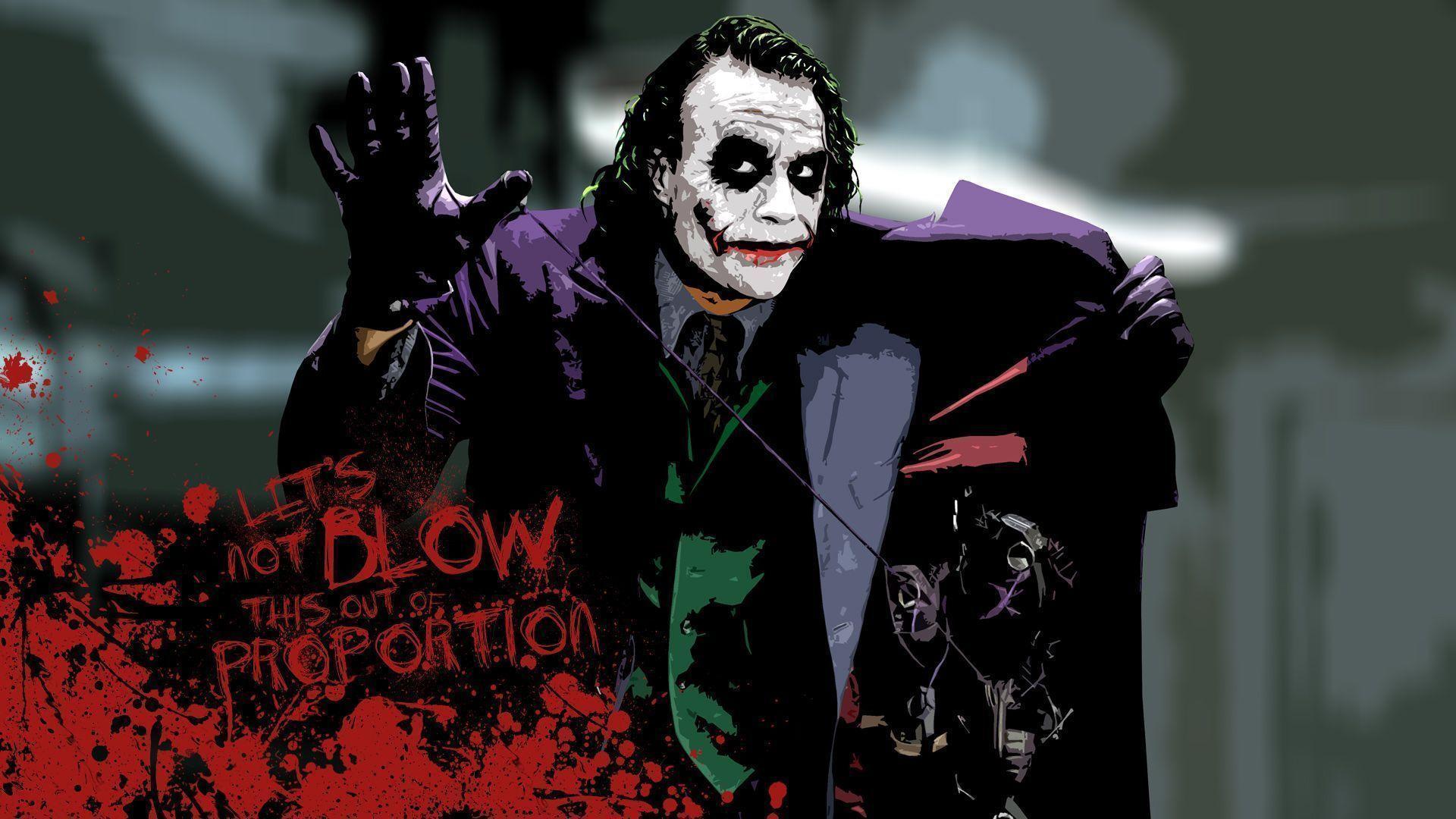 Heath Ledger Joker Wallpapers Wallpaper Cave