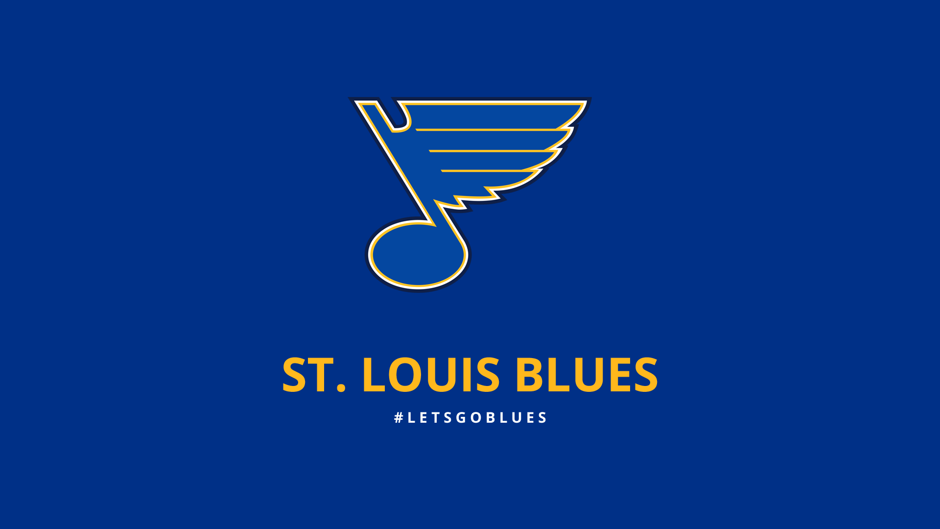 Minimalist St Louis Blues wallpapers by lfiore