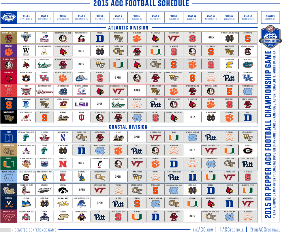 college football 2015 schedule college football app