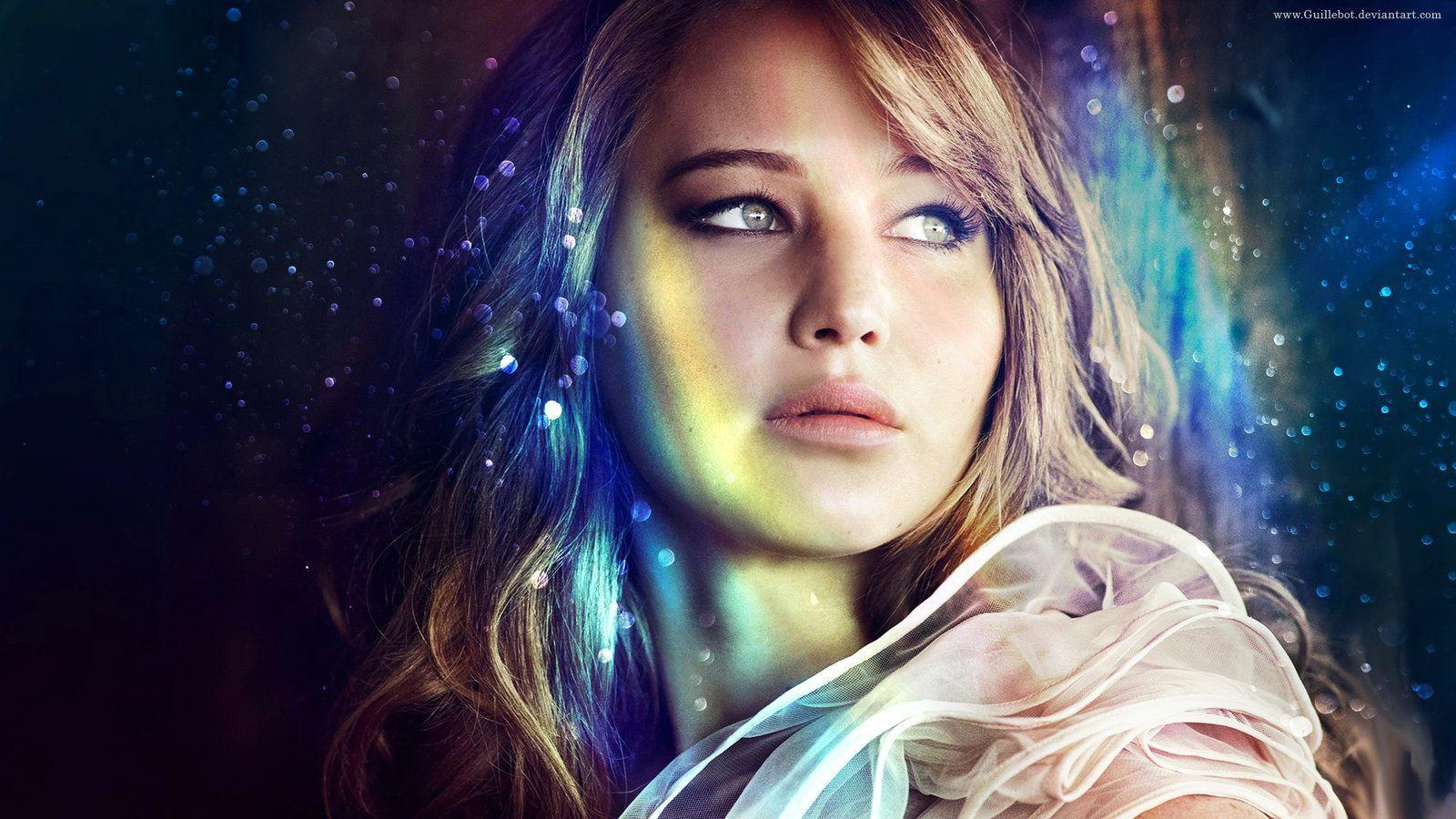 Jennifer Lawrence wallpaper by GuilleBot on DeviantArt