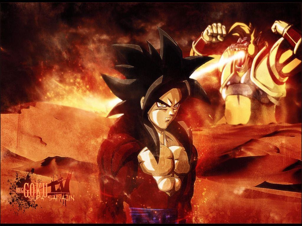 Goku ssj4 wallpapers wallpaper cave - Dragon ball gt goku wallpaper ...