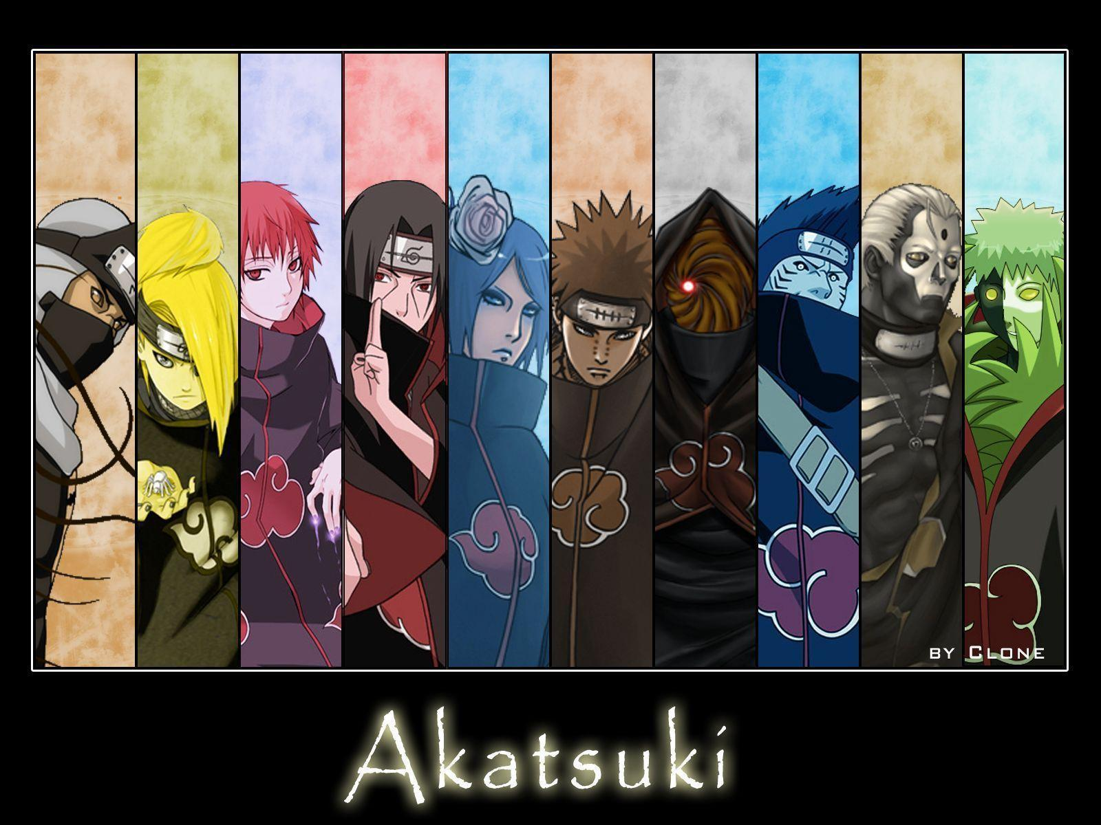 Naruto Akatsuki High Res Wallpaper 16974 HD Wallpapers Image ...