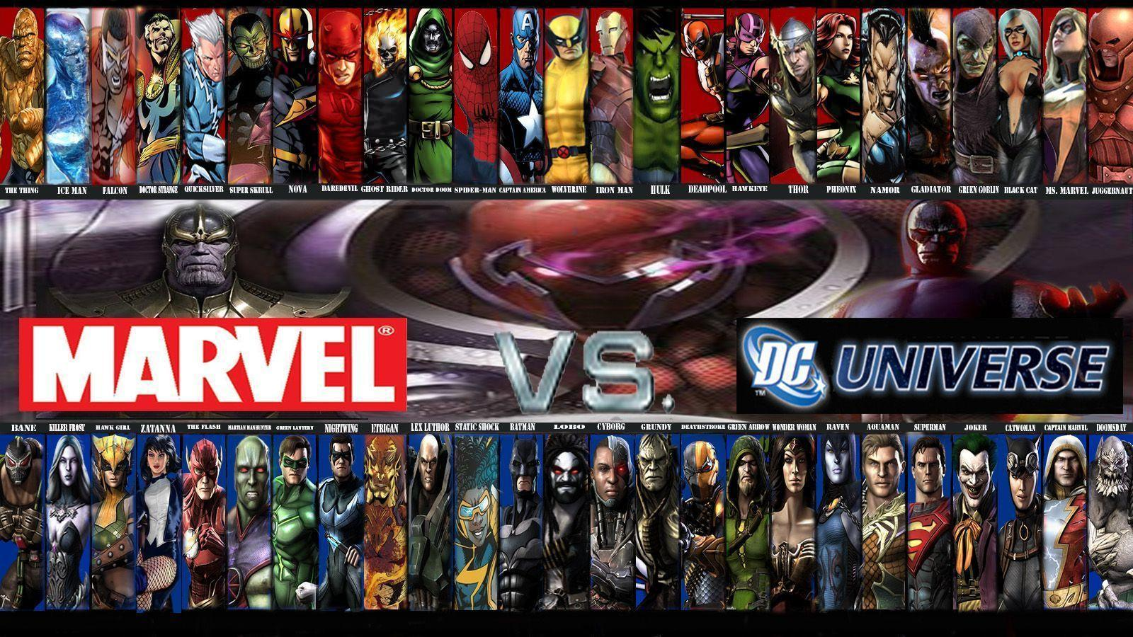 marvel dc wallpaper by - photo #6
