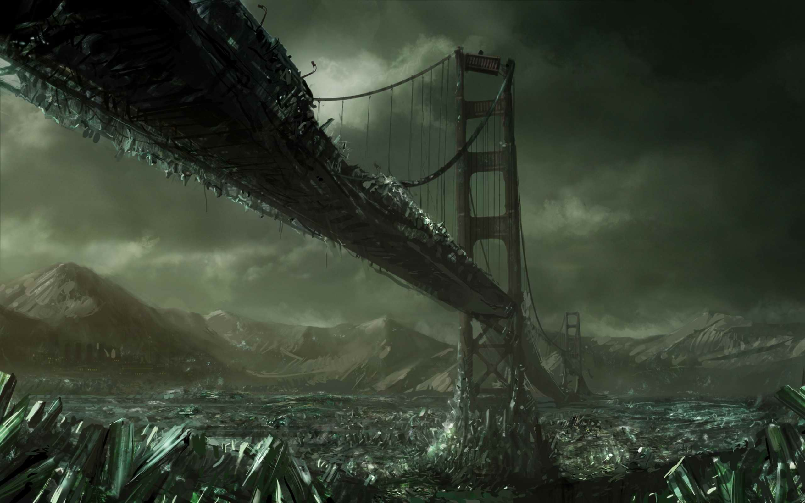 Ice Age, the Golden Gate Bridge
