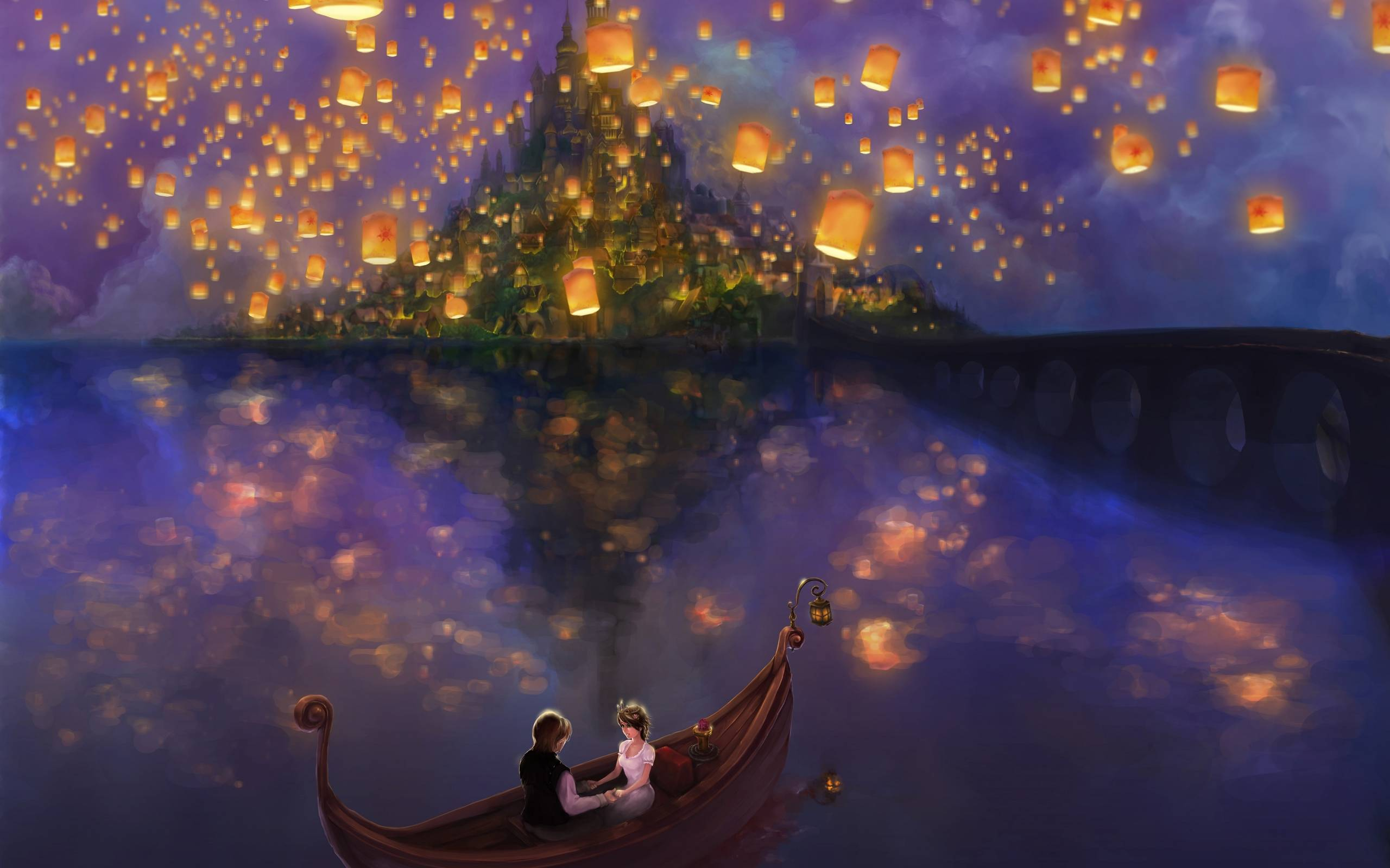 rapunzel lanterns background wwwimgkidcom the image