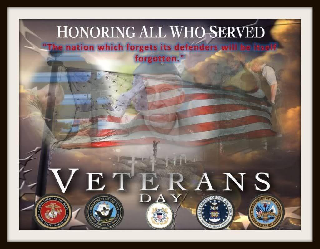 happy veterans day image