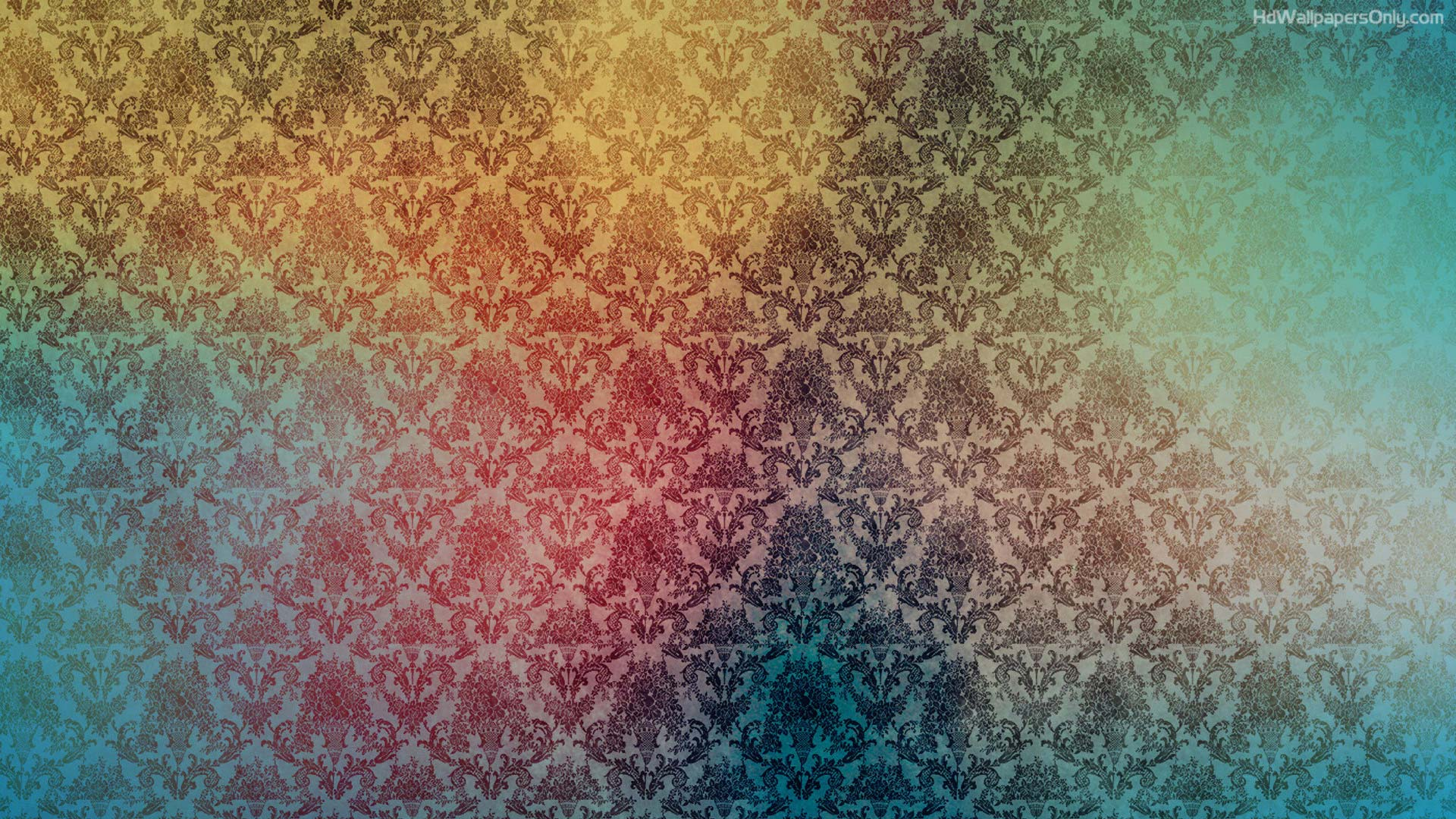retro colorful background hd - photo #2
