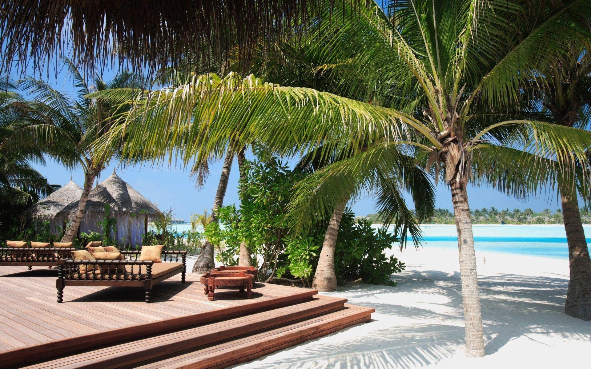 Hd Tropical Island Beach Paradise Wallpapers And Backgrounds: Wallpapers Tropical Beach