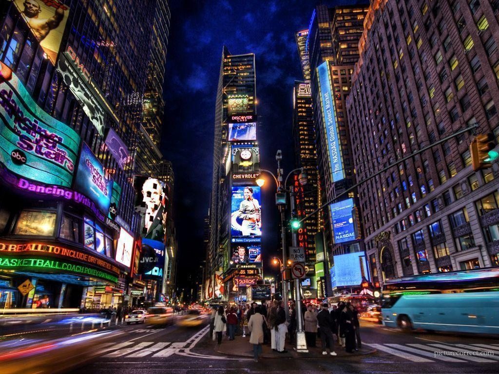 New York City Times Square Wallpapers Wallpapers