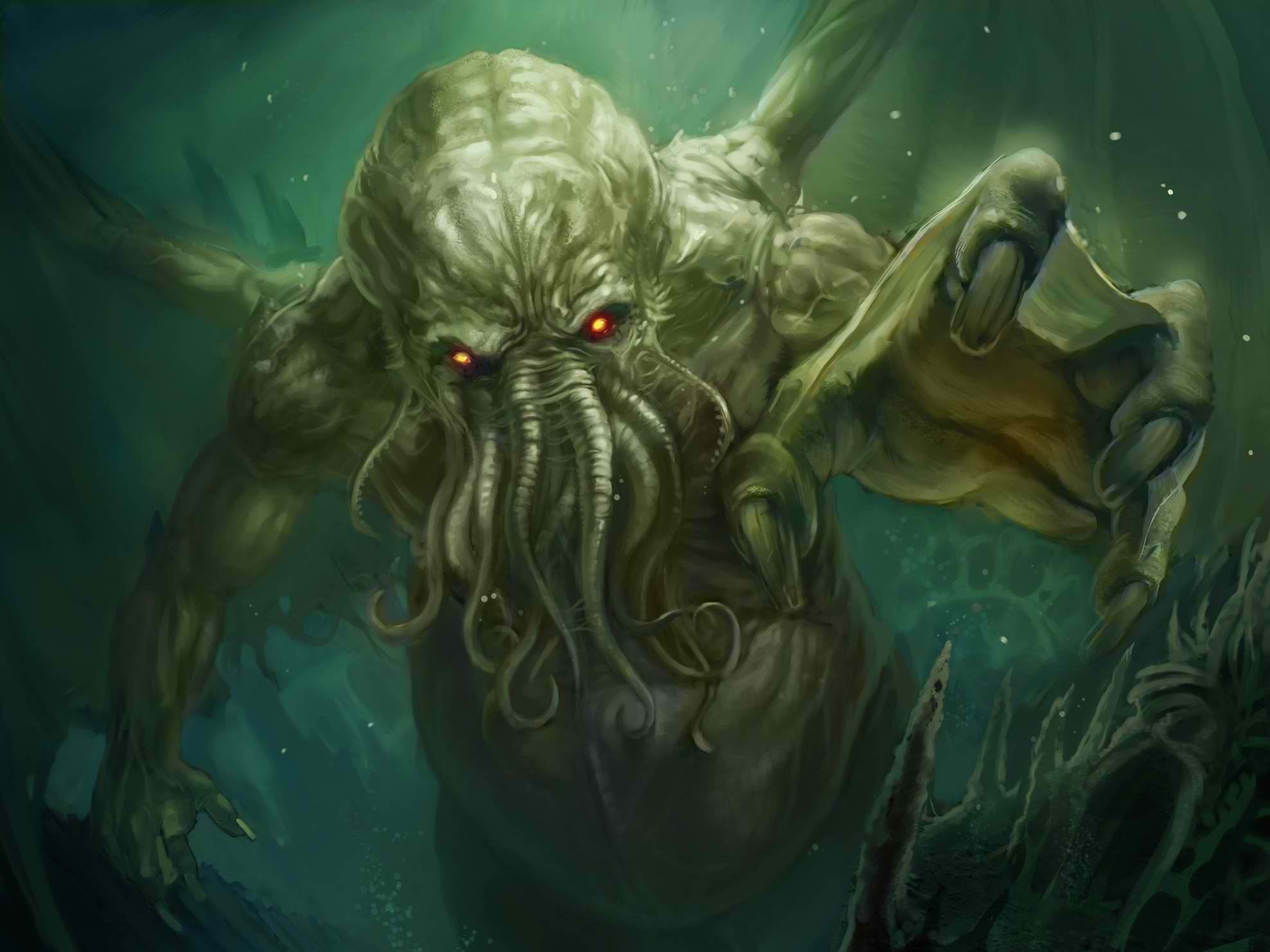 Cthulhu Computer Wallpapers, Desktop Backgrounds 1977x1483 Id: 342958