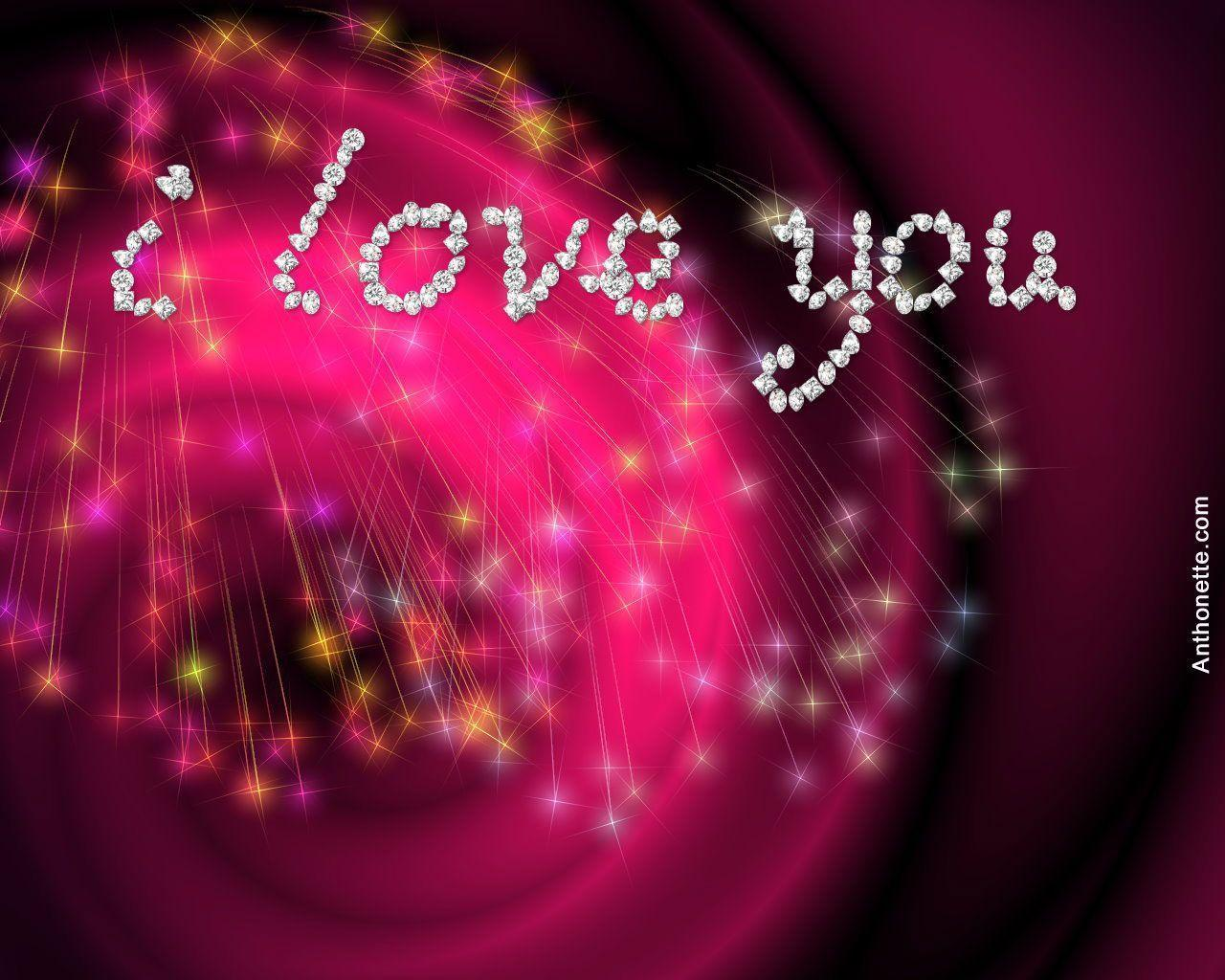 Wallpaper download love you - Wallpapers For Wallpaper Of I Love You