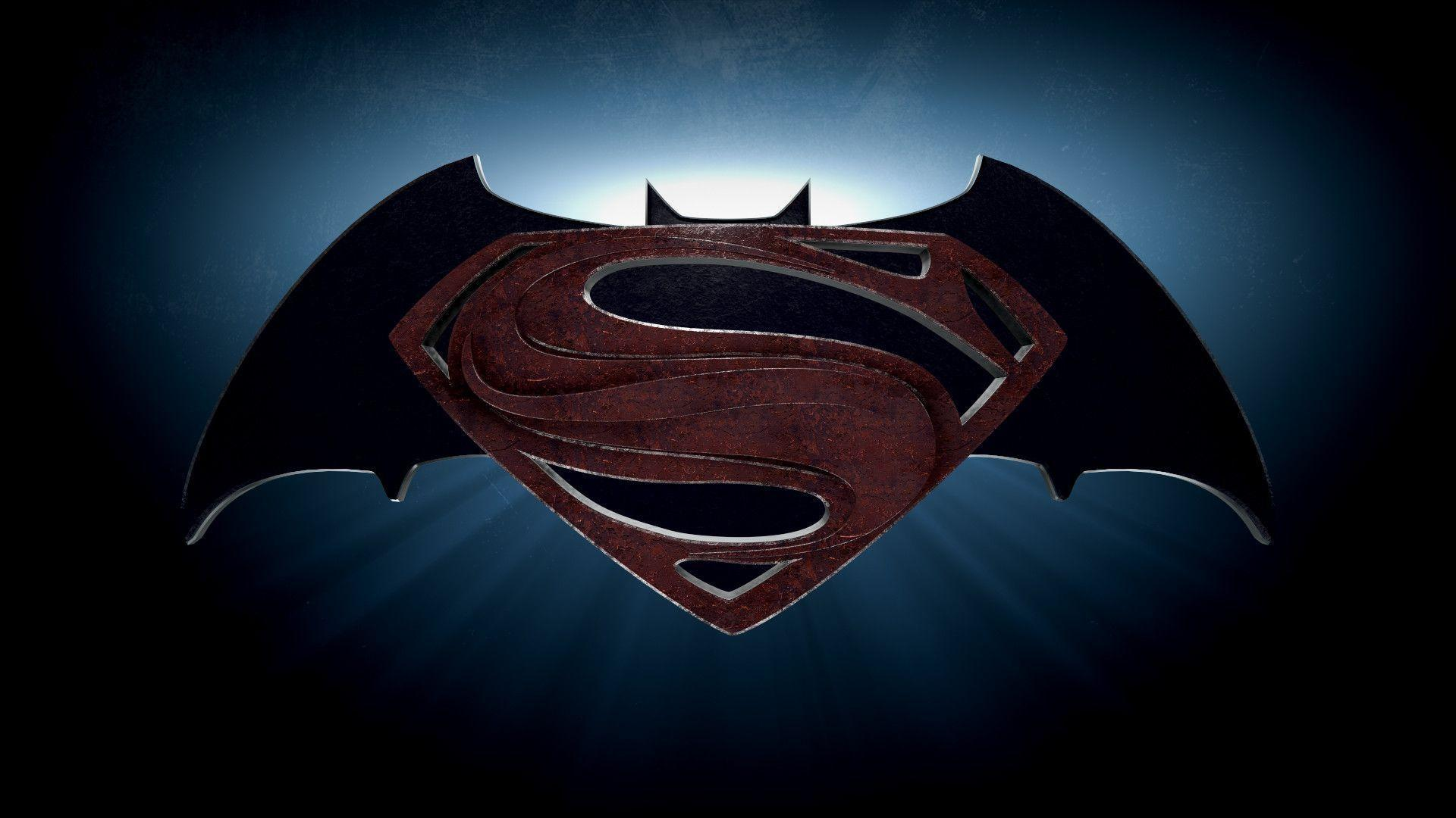 Batman vs Superman Symbol Wallpaper (59+ images) |Batman Superman Logo Wallpaper