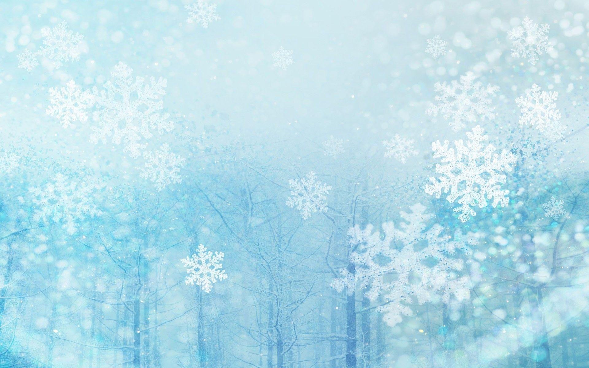 3 Romantic snow flakes & Christmas baubles Wallpapers - HD ...