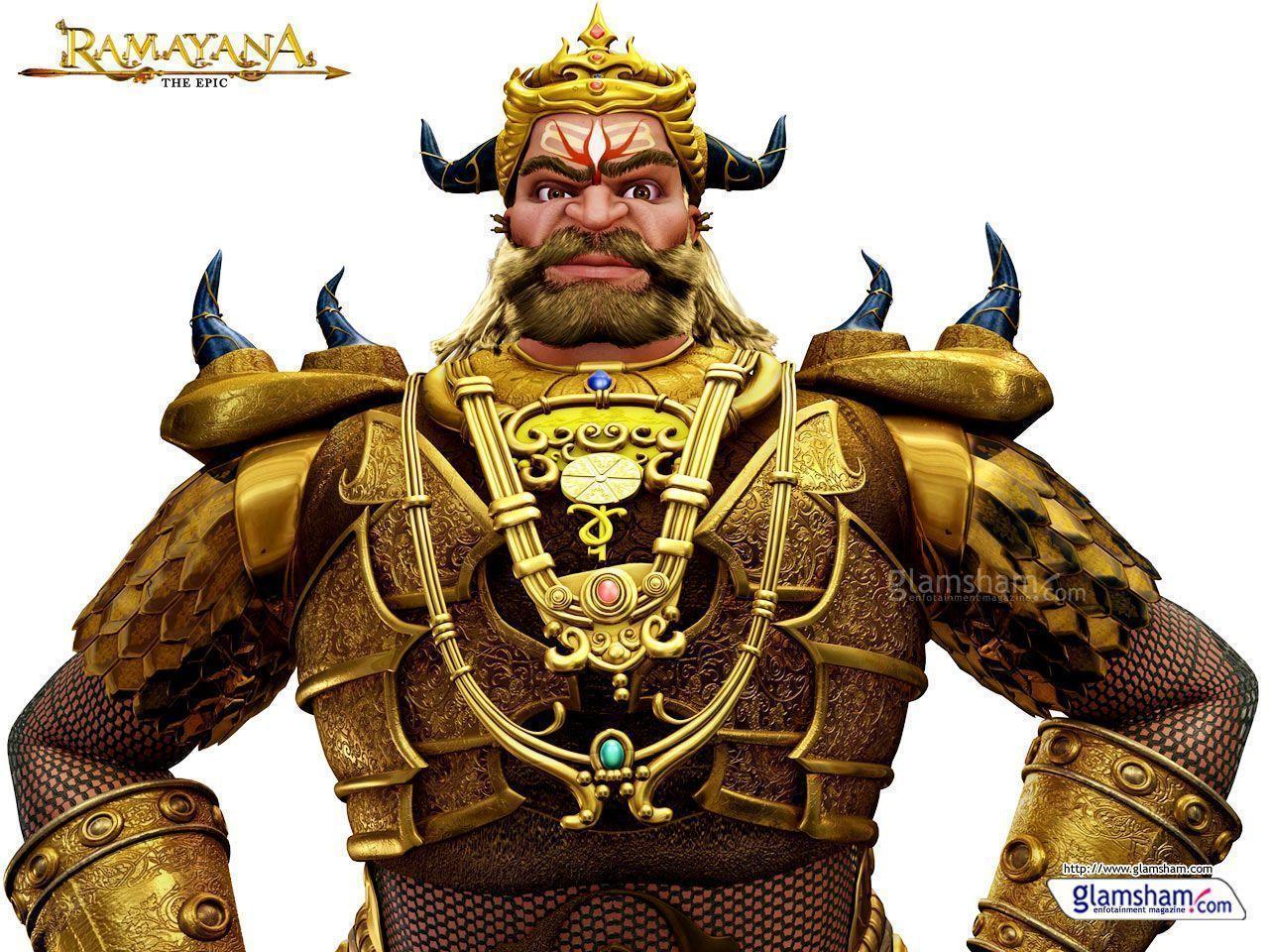 Ramayana – the epic – animated movies.