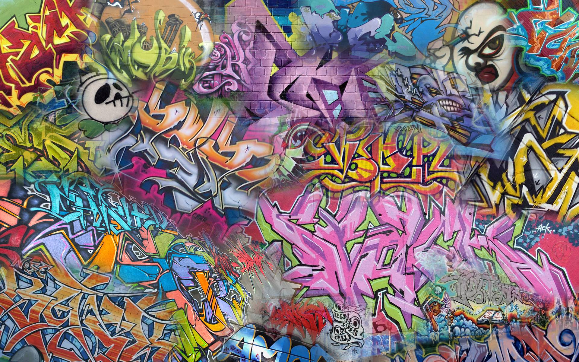 Cool Street Art Abstract Wallpaper Picture 703