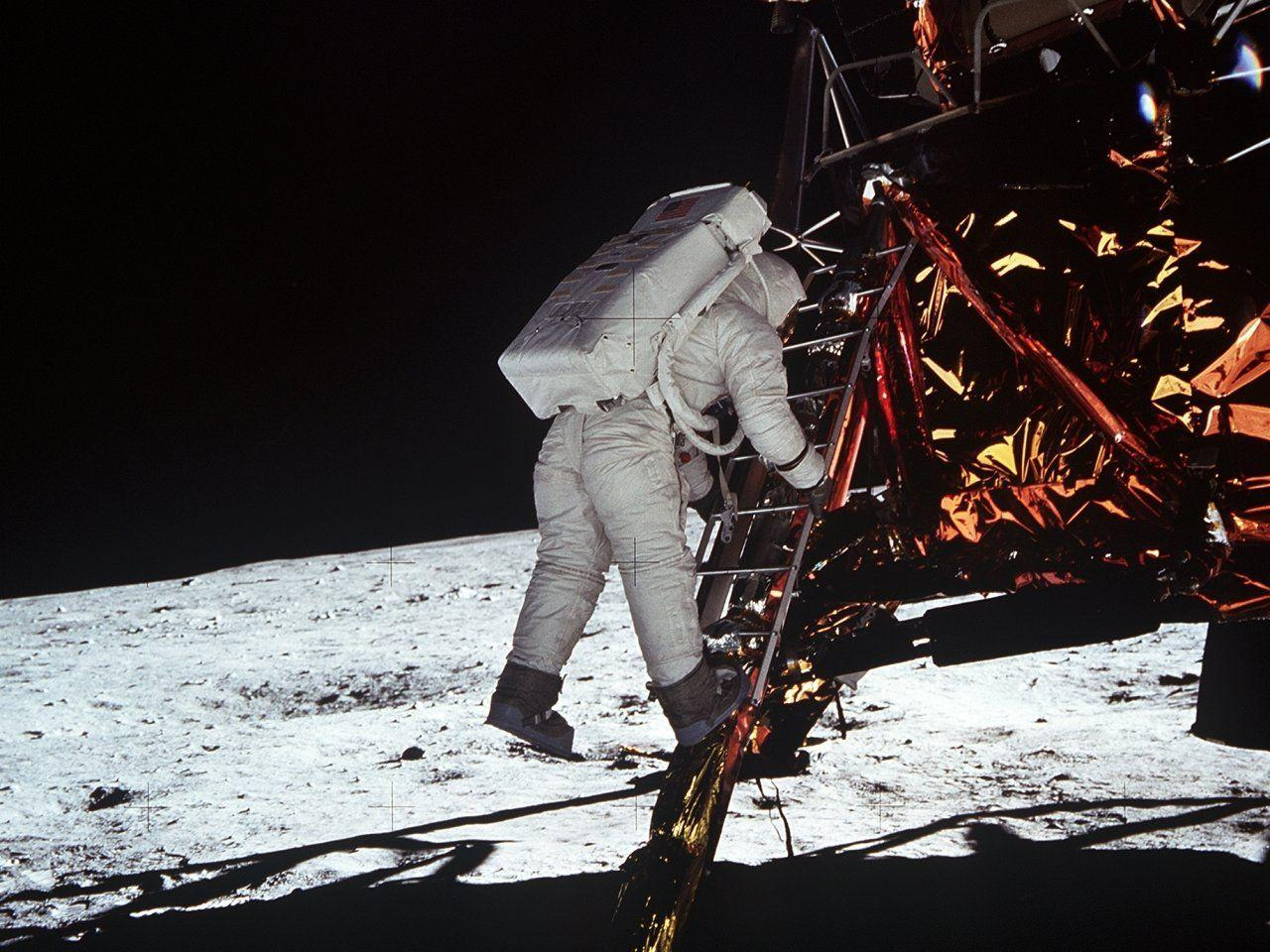 Apollo 11 Aldrin One Small Step Desktop Wallpapers