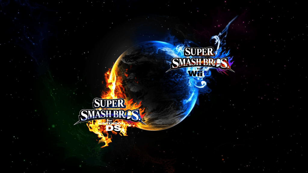 DeviantArt: More Like Super Smash Bros. Wii U/3DS Logo Wallpapers