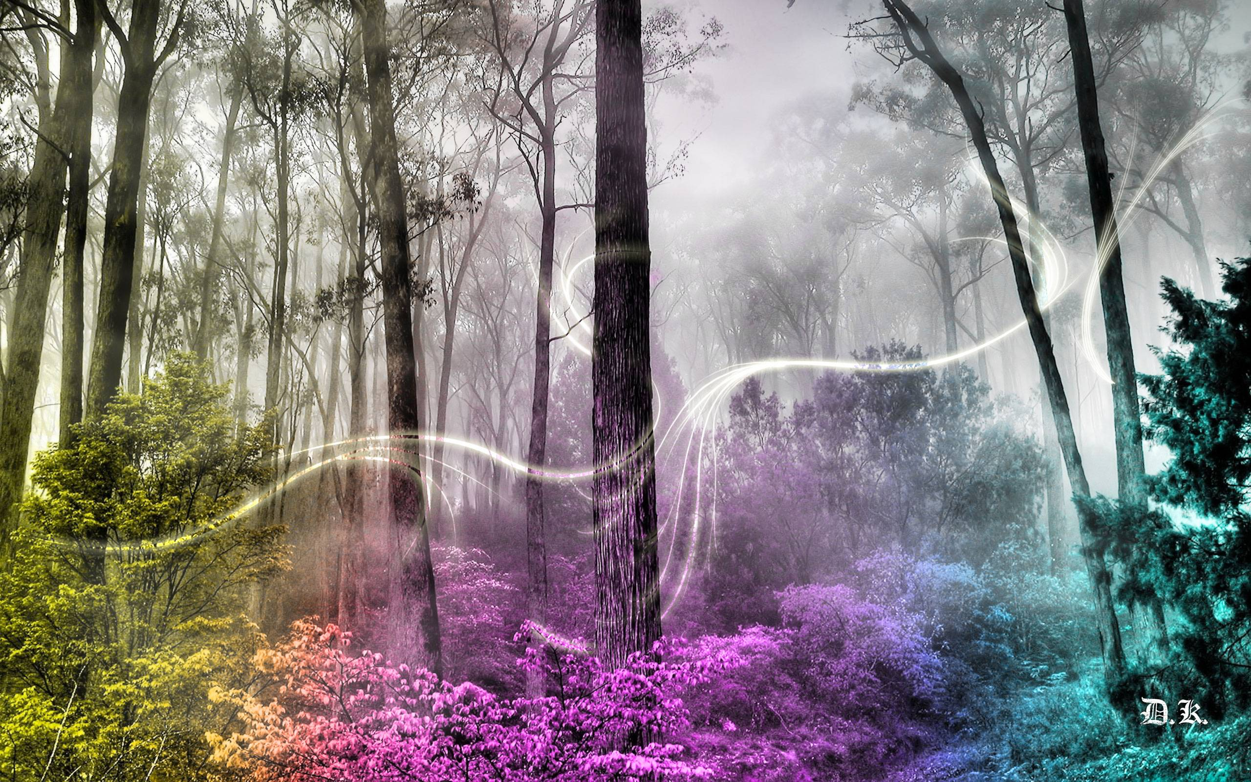 Wallpapers For > Enchanted Fairy Forest Backgrounds