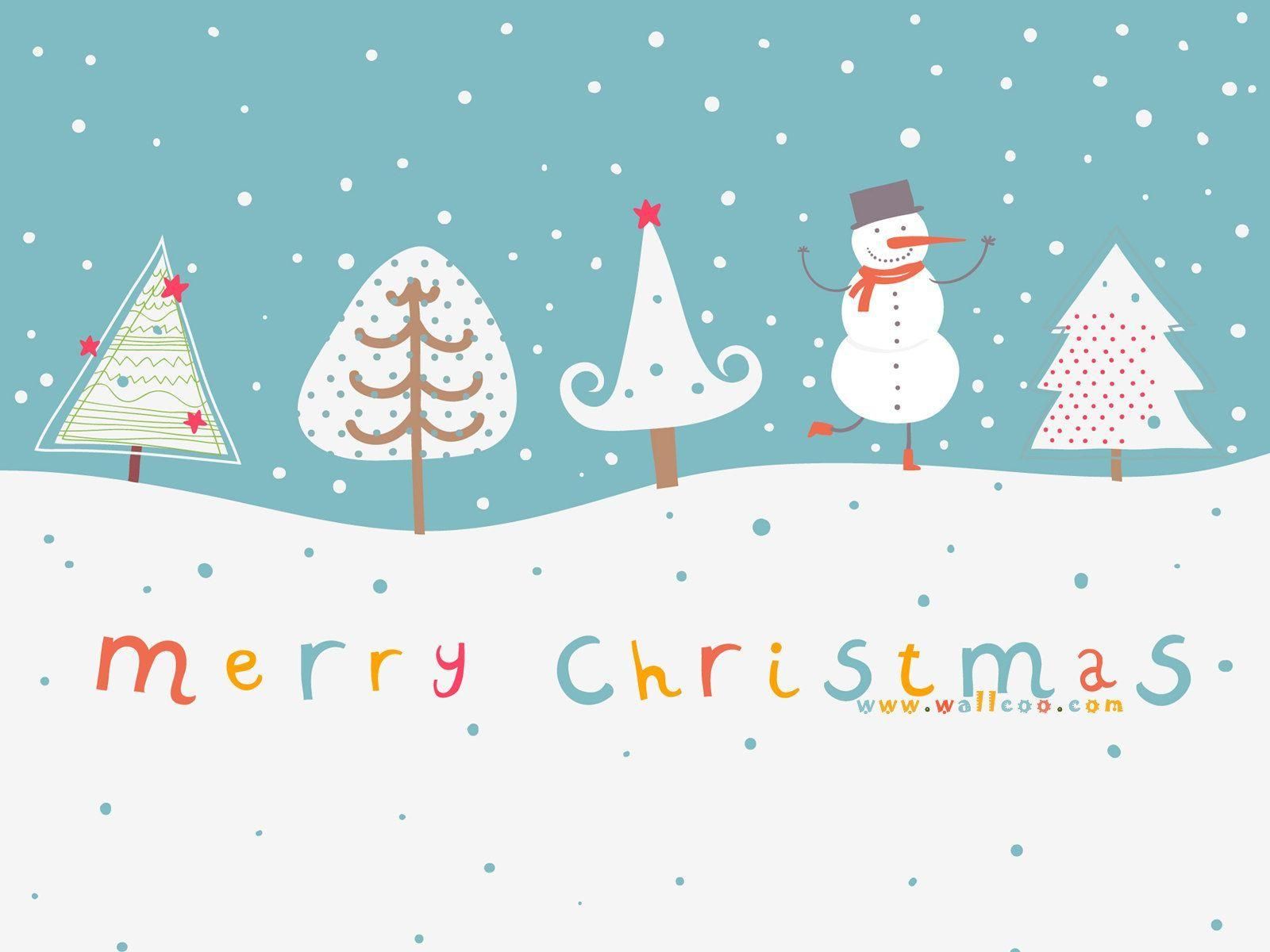 Cute Christmas Desktop Wallpapers