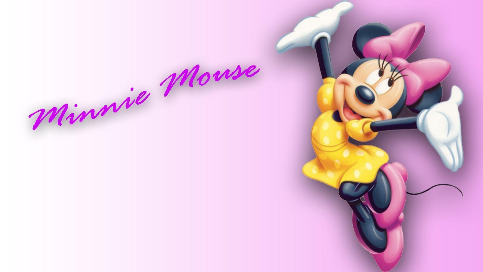 minnie mouse wallpapers wallpaper cave. Black Bedroom Furniture Sets. Home Design Ideas