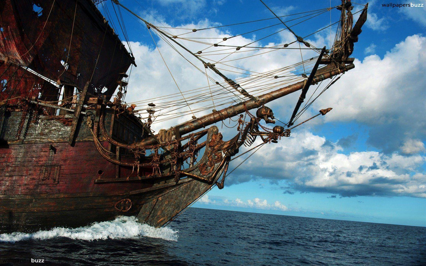 pirate ship computer wallpapers - photo #12