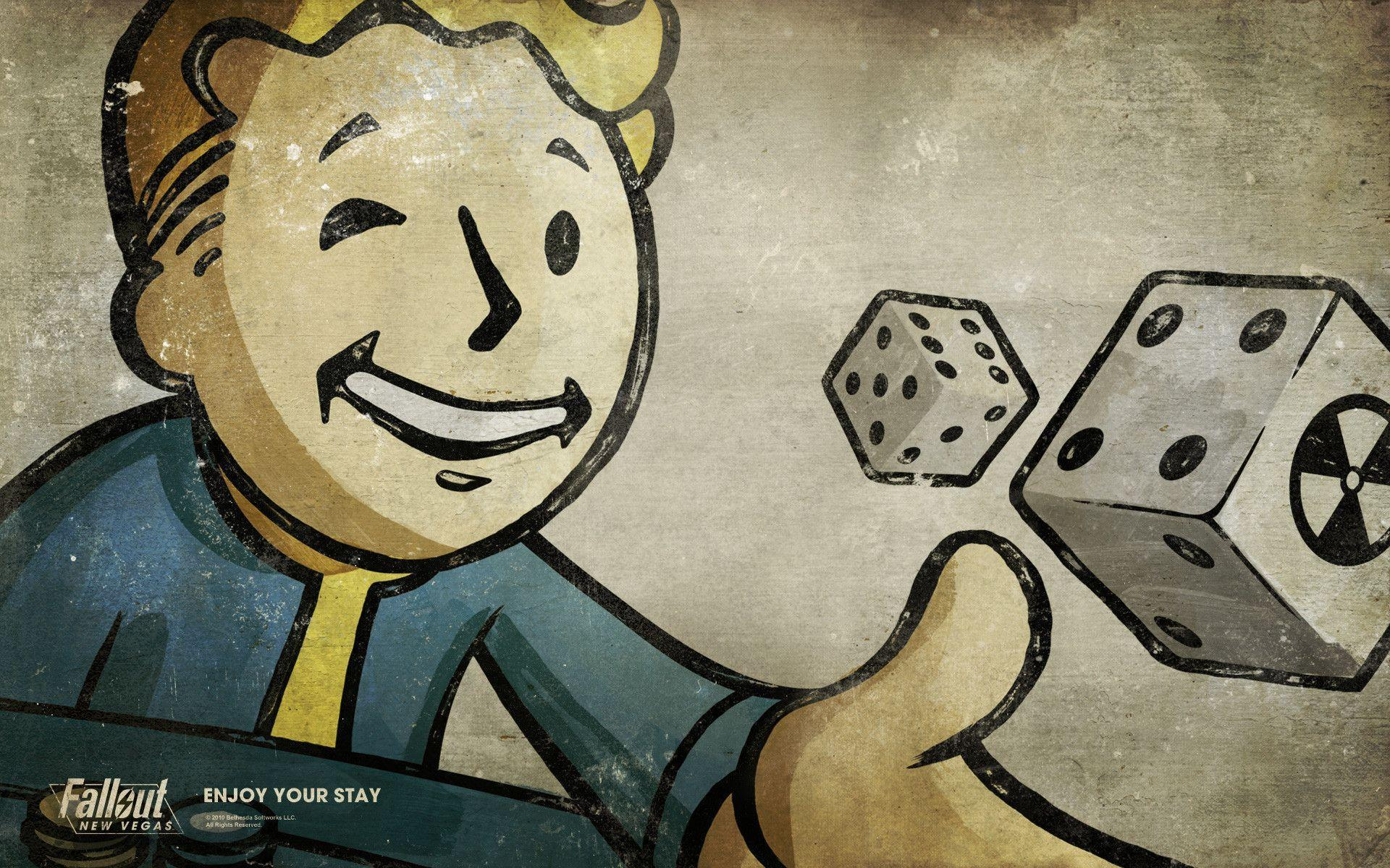 Fallout, new vegas, vault-boy, radiation, dice, games | Free HD ...