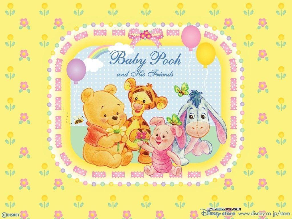 Baby Winnie the Pooh Background For Pictures | Cartoons Images