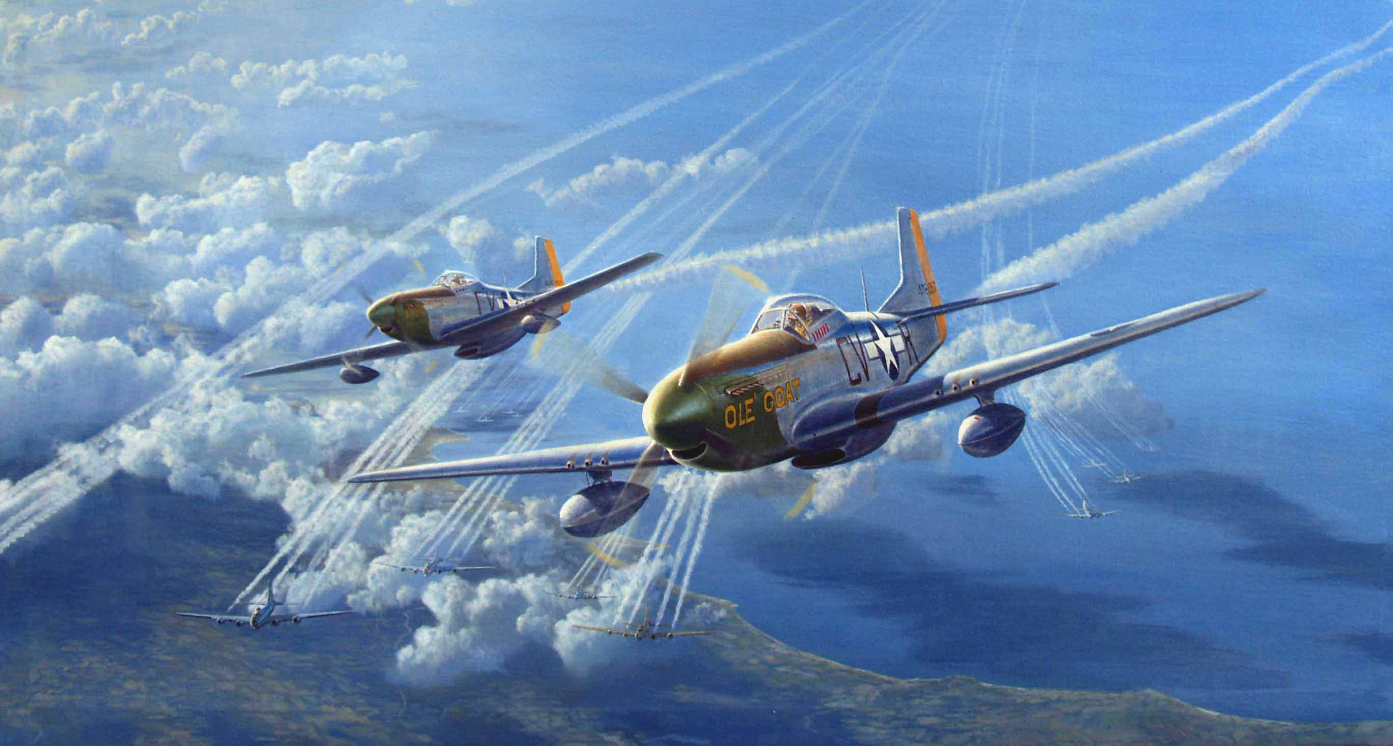13 North American P-51 Mustang Wallpapers | North American P-51 ...