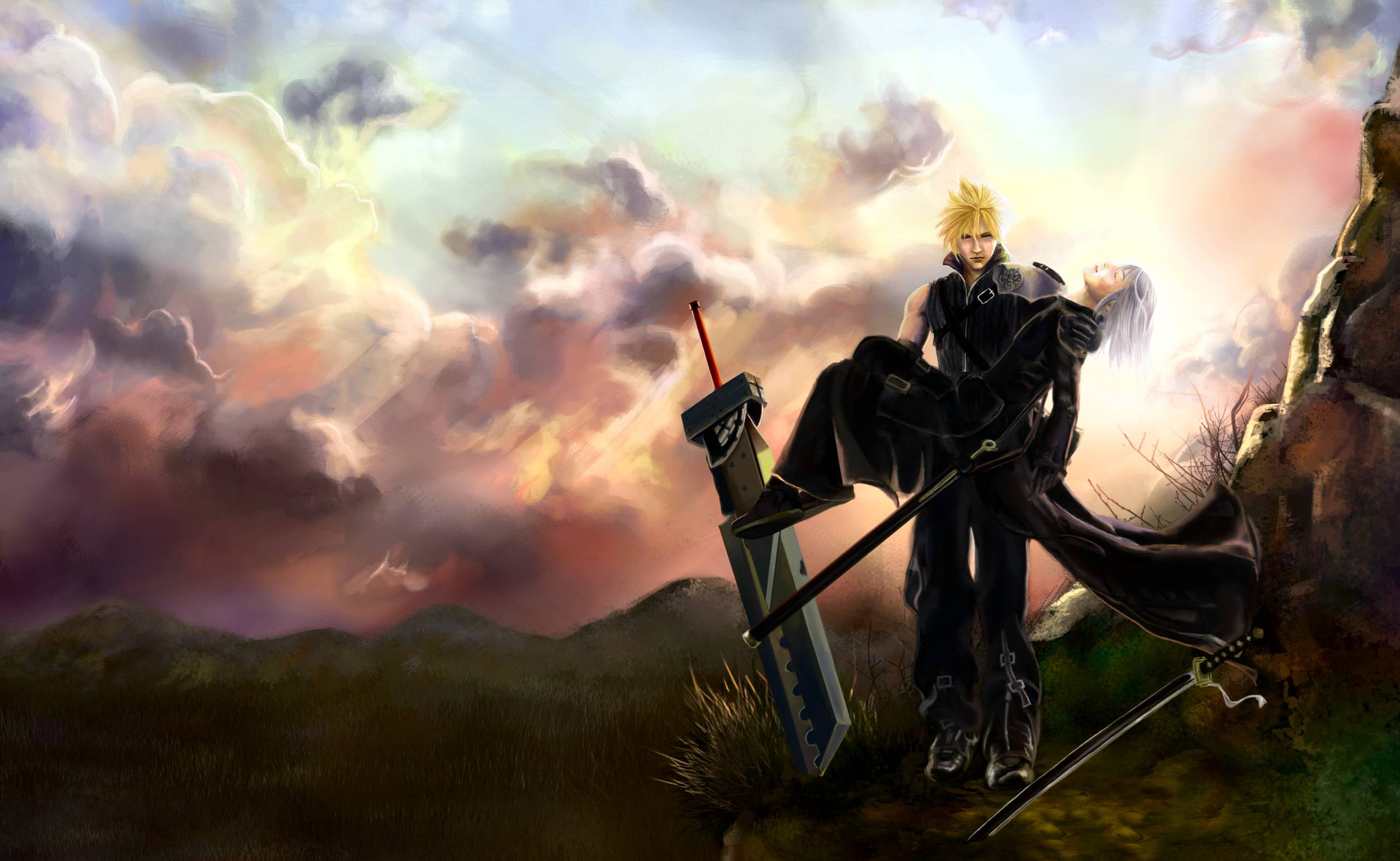Final Fantasy Wallpapers 87 Background Pictures: Final Fantasy 7 Backgrounds