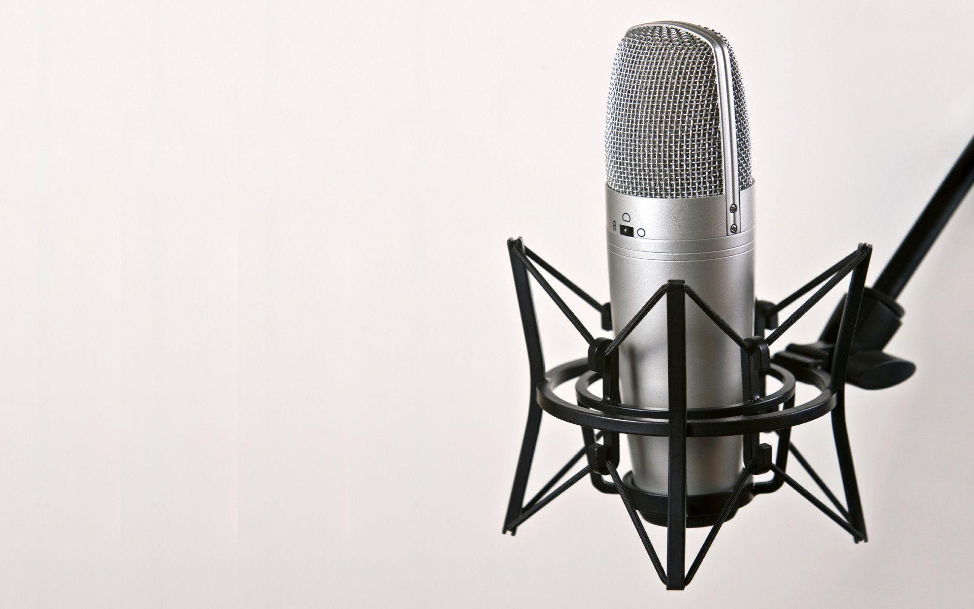 Wallpapers For Recording Studio Microphone Wallpaper