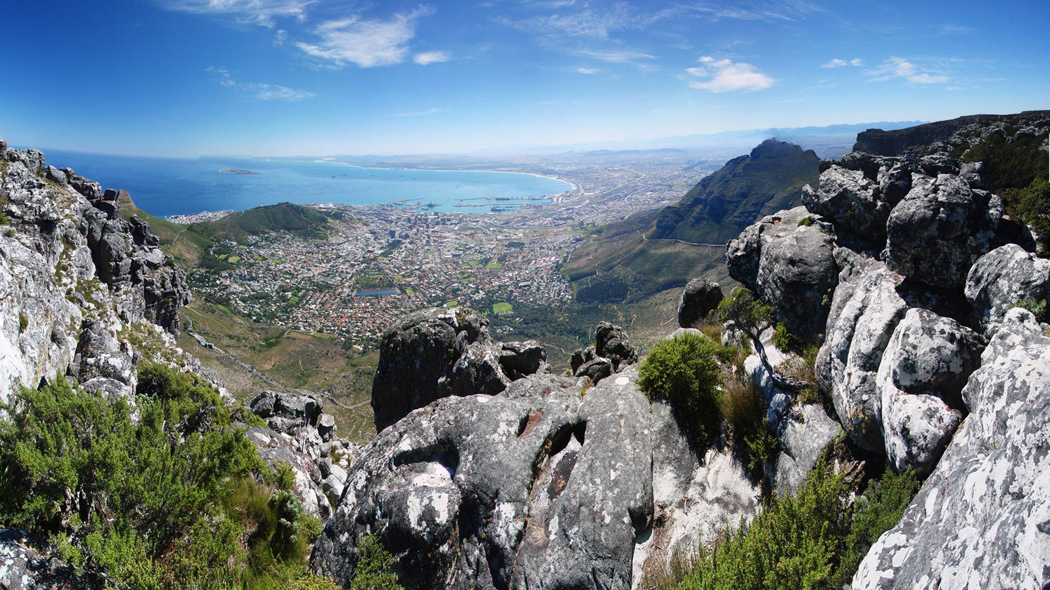 Cape Town Mountain View wallpaper