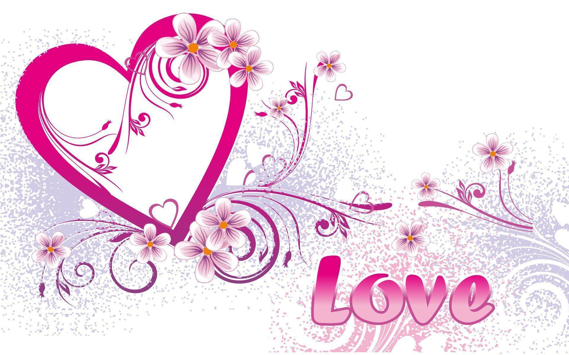 Best 2015 Happy Valentines Day 3D Wallpapers Pack for Desktop