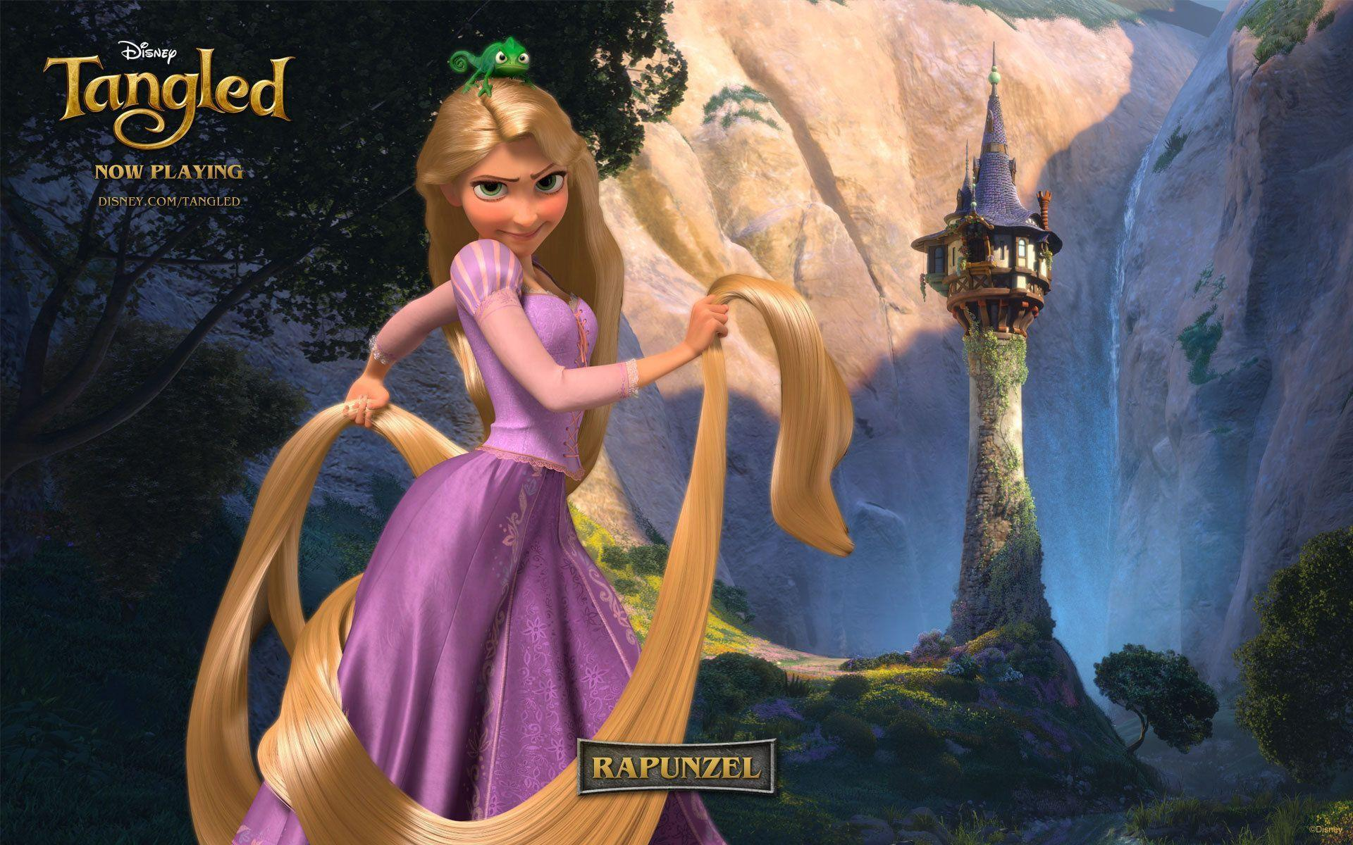 Gambar Barbie As Rapunzel