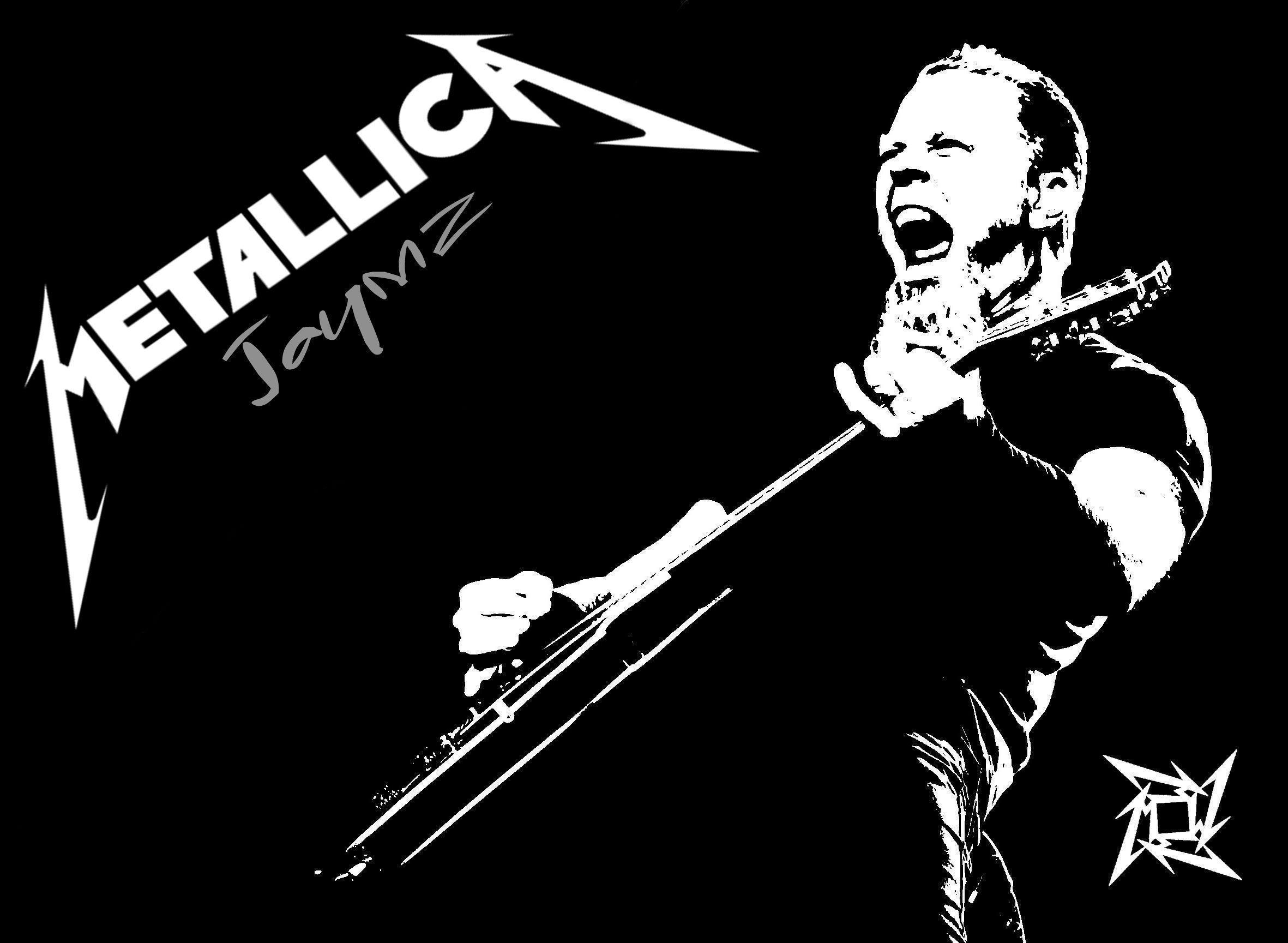 metallica logo wallpapers wallpaper cave