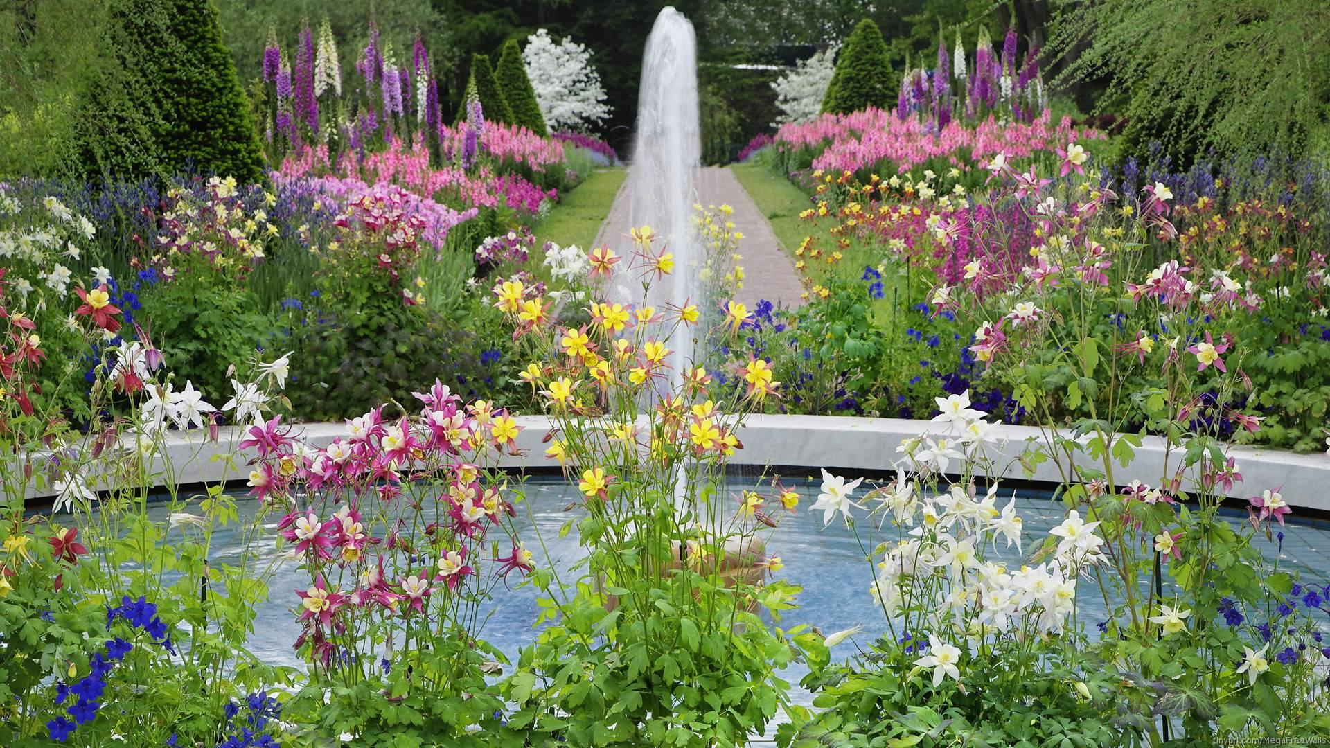 Flower Garden Wallpapers - Wallpaper Cave