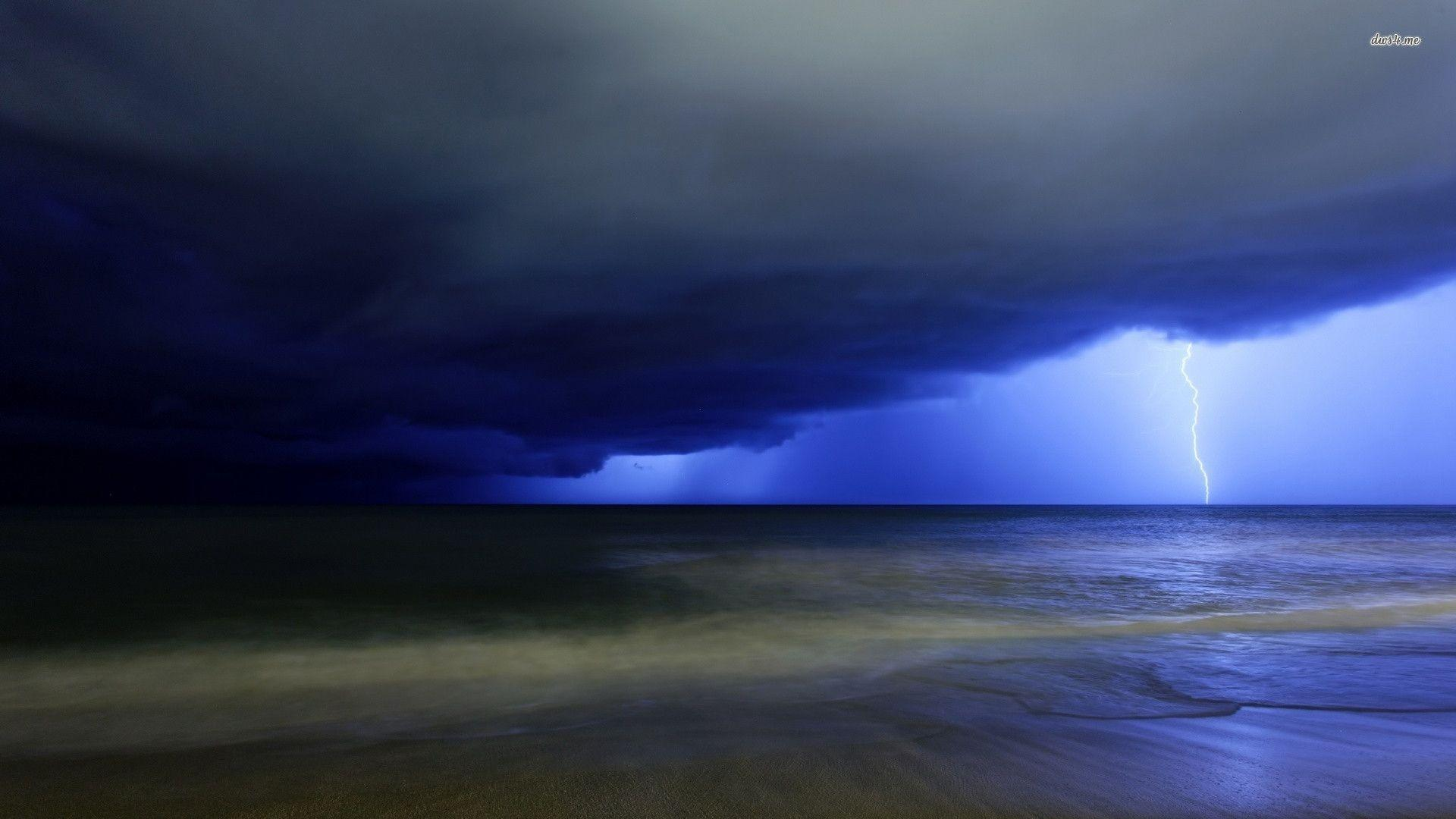 My Free Wallpapers Nature Wallpaper Lightning Storm