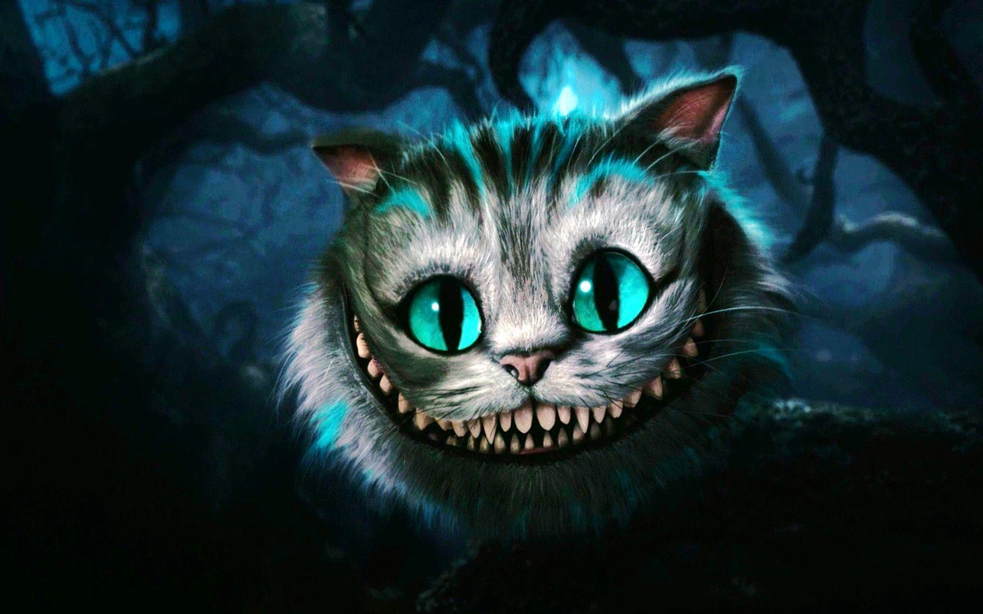 Cheshire Cat Wallpaper...