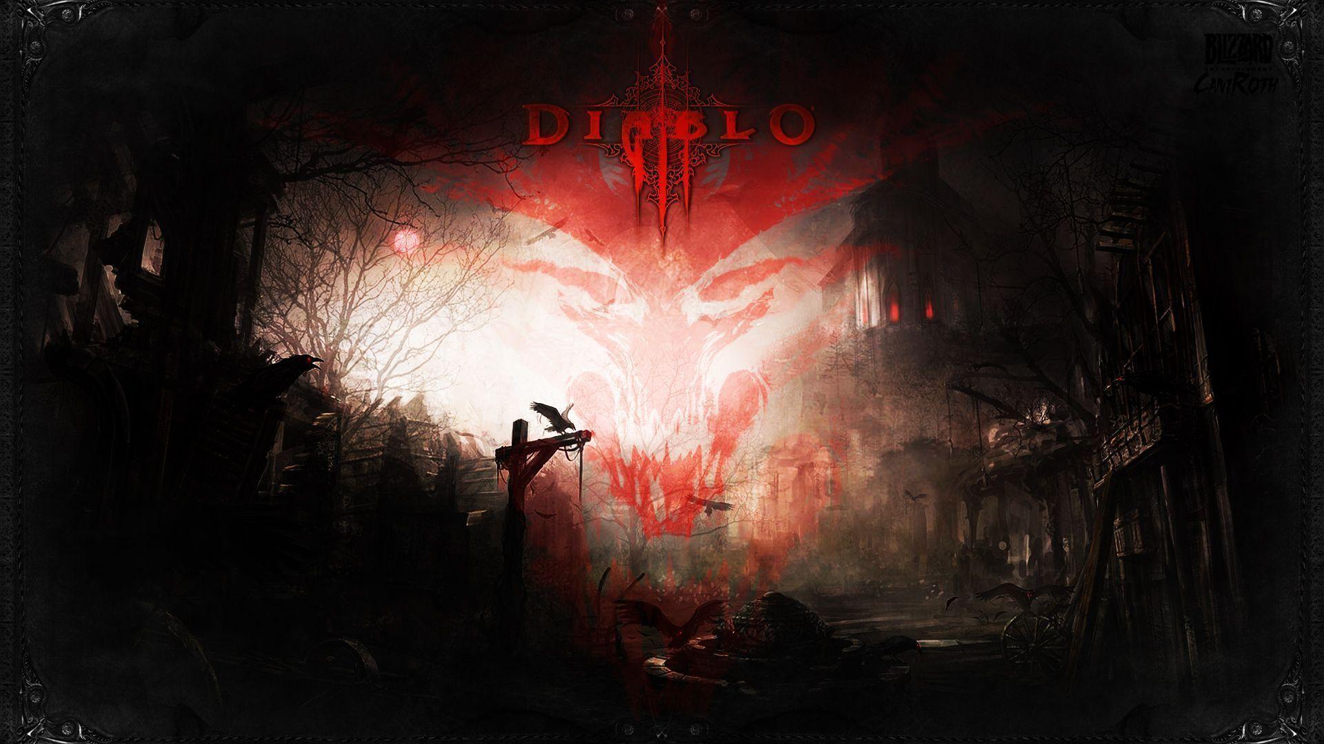 2012 Diablo 3 Shadow over Tristram Wallpapers - HD Wallpapers 98148