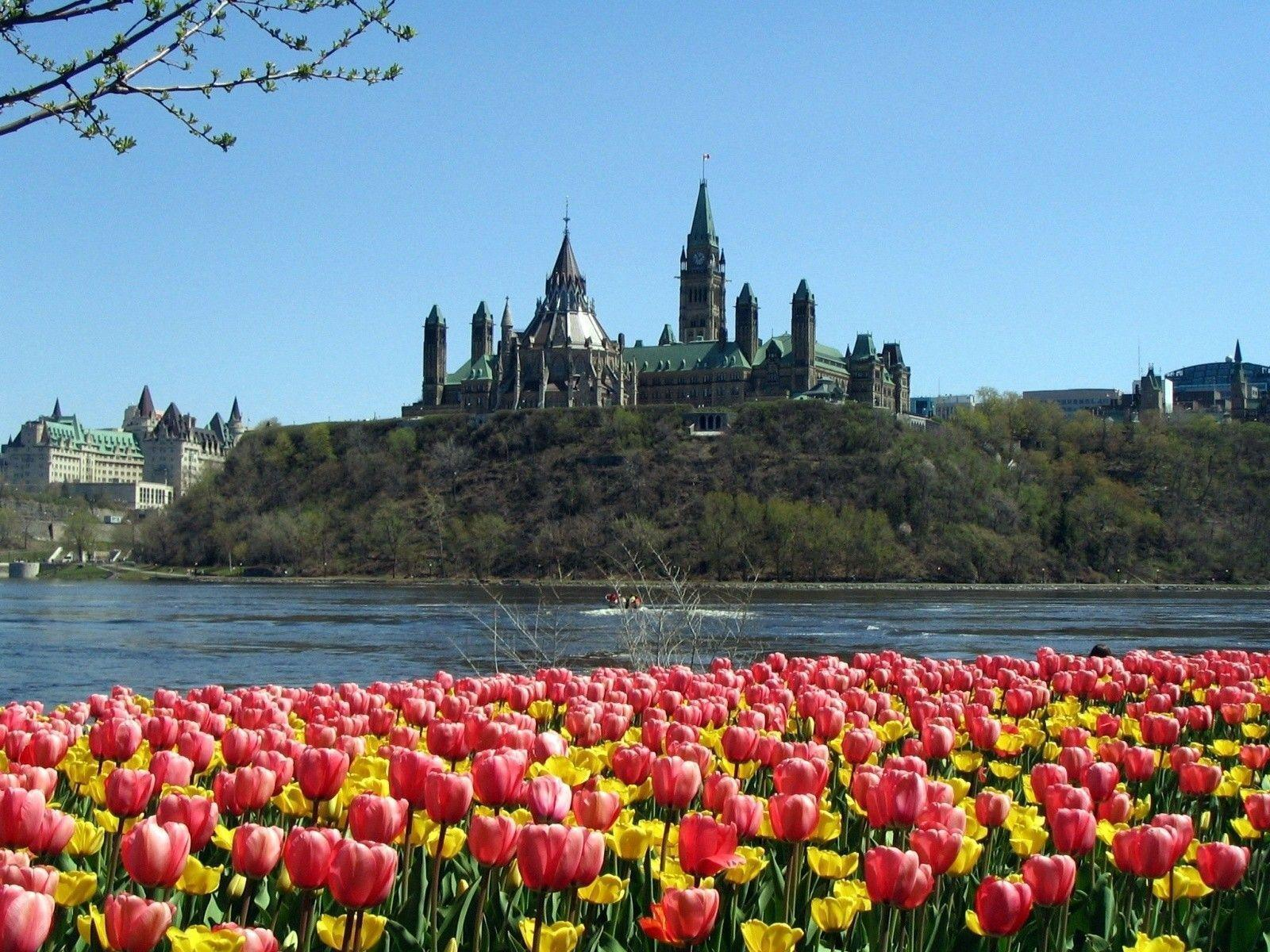 Parliament Hill Spring Season Wallpapers