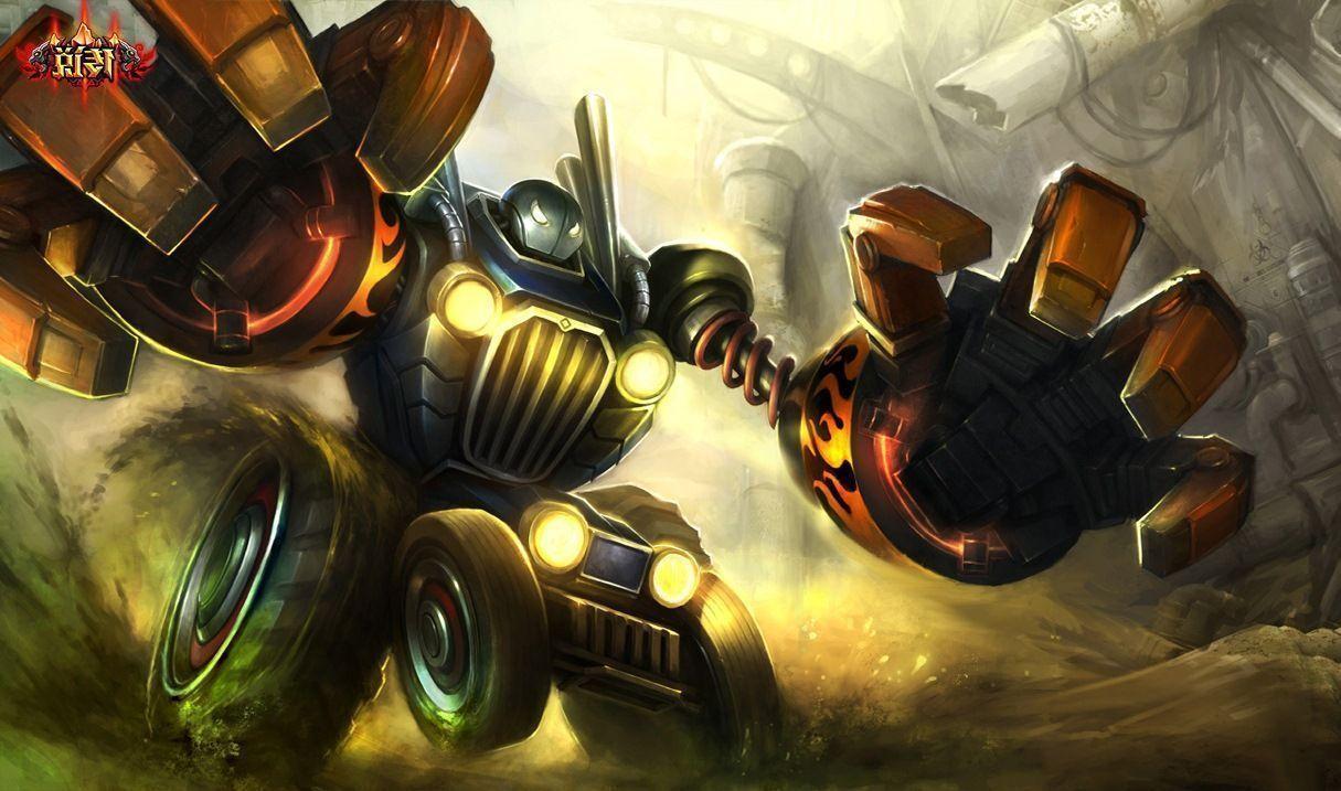 Blitzcrank League Of Legends Hd Wallpaper: Blitzcrank Wallpapers