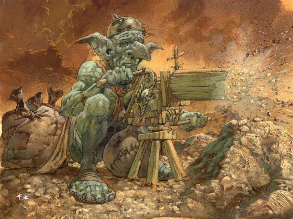 Goblin wallpapers wallpaper cave - Hobgoblin wallpaper ...