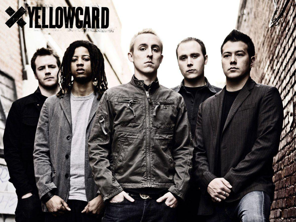 Yellowcard is an American Pop Punk Rock Band, Yellowcard Wallpapers