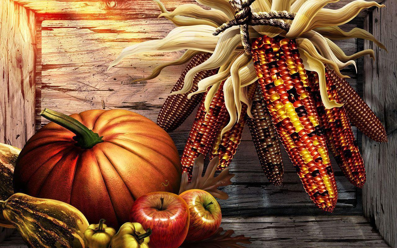 Thanksgiving Wallpaper 2014- Dr. Odd