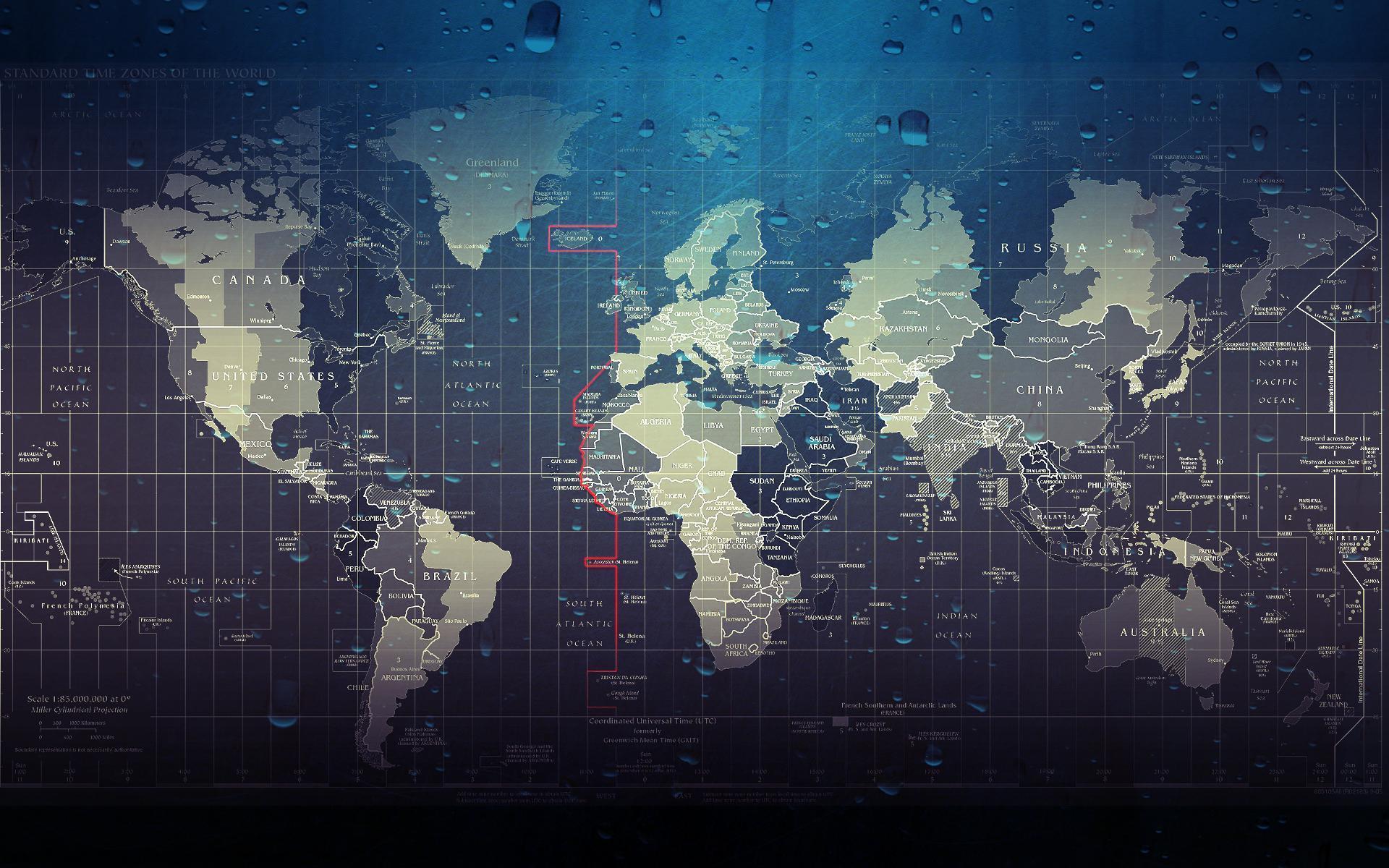 World Map Desktop Wallpapers Wallpaper Cave - Cute world map wallpaper